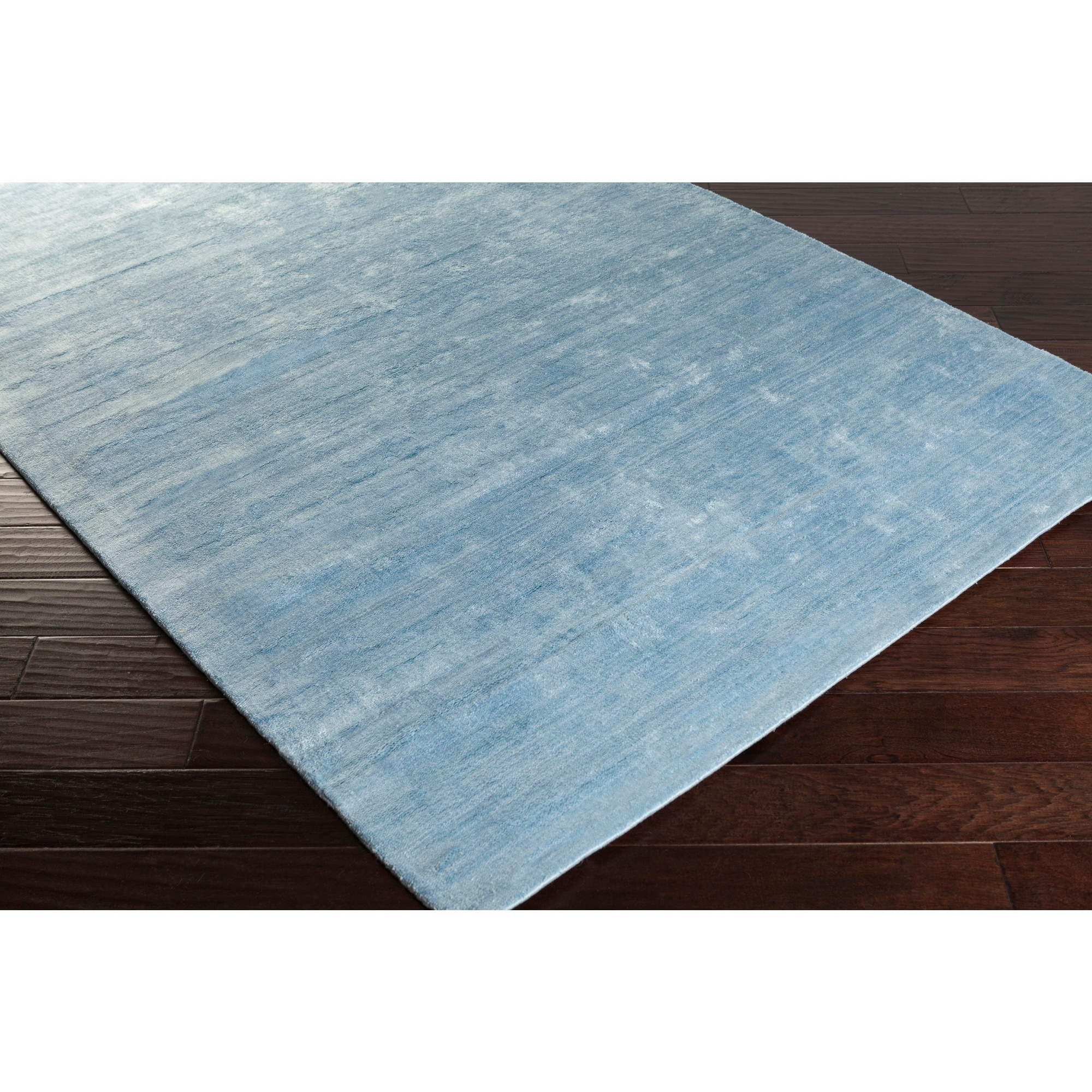 Shop handmade pedro solid rayon from bamboo area rug 8 x 10 on sale free shipping today overstock com 9775745