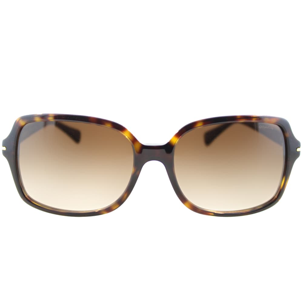 b6e20b3ab54fc Shop Coach Women s Blair Dark Tortoise Sunglasses - Free Shipping Today -  Overstock - 9776111
