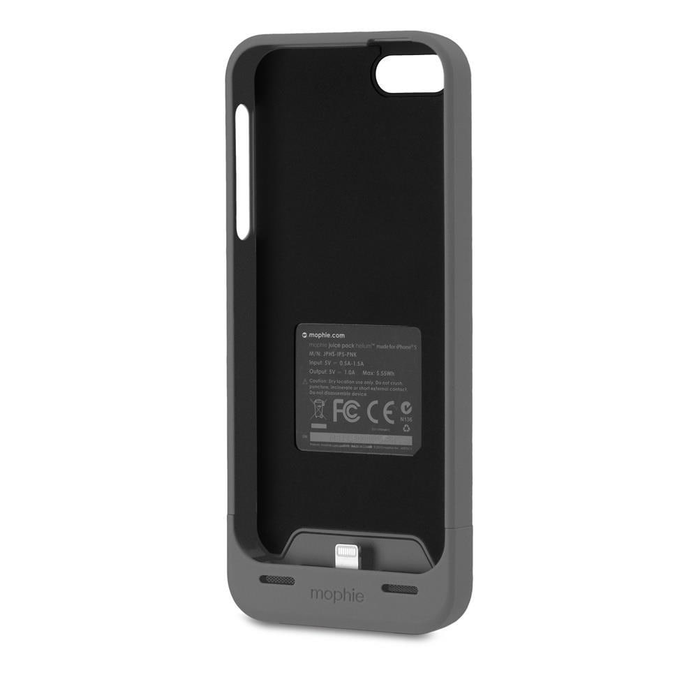 db69e6e2e Shop Mophie Helium Juice Pack Battery Case for iPhone 5/ 5S - Free Shipping  On Orders Over $45 - Overstock - 9776361