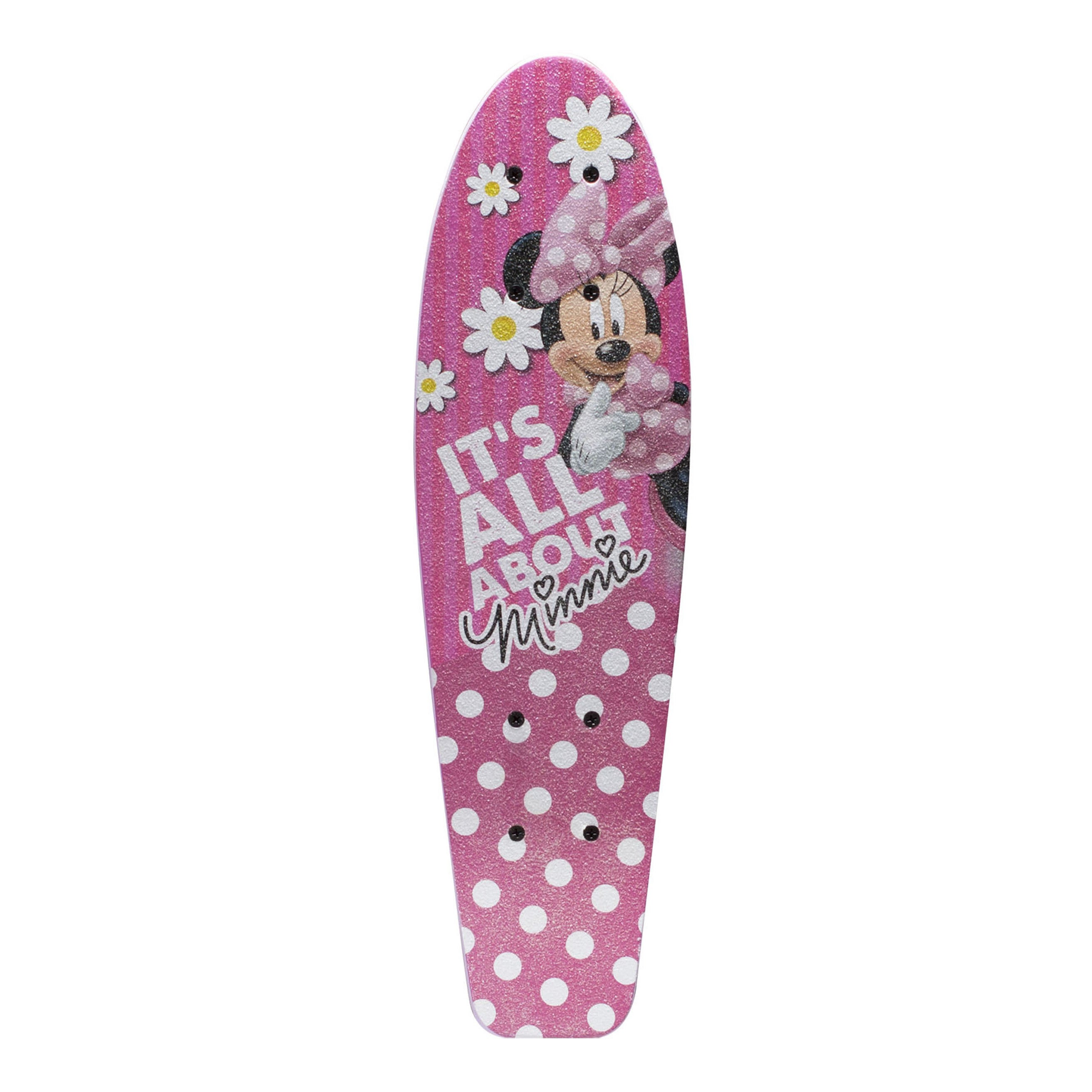 Shop Disney Minnie Mouse Kids 21-inch Complete Skateboard - Free Shipping  On Orders Over  45 - Overstock - 9776390 4b586b50160