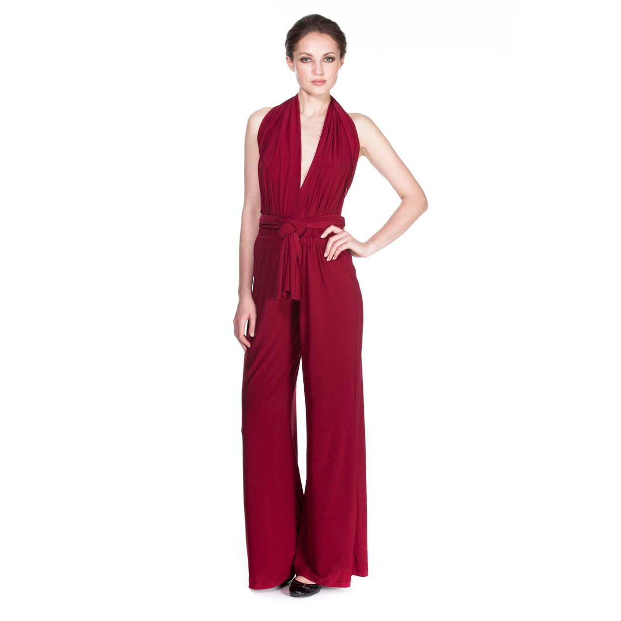 51cfa0a852a Shop Women s Ladies Multiway Jumpsuit Rompers Playsuits - Free Shipping  Today - Overstock.com - 9776426