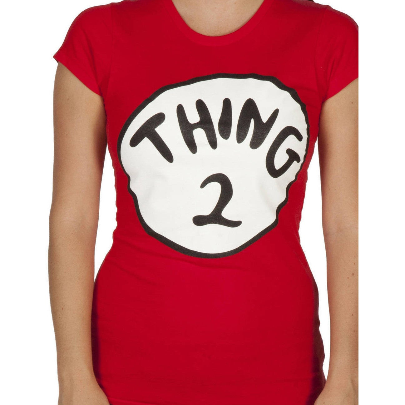 Shop Women s Dr. Seuss Cat In The Hat Thing 2 Red Cotton T-shirt - Free  Shipping On Orders Over  45 - Overstock - 9779492 4261e18b2