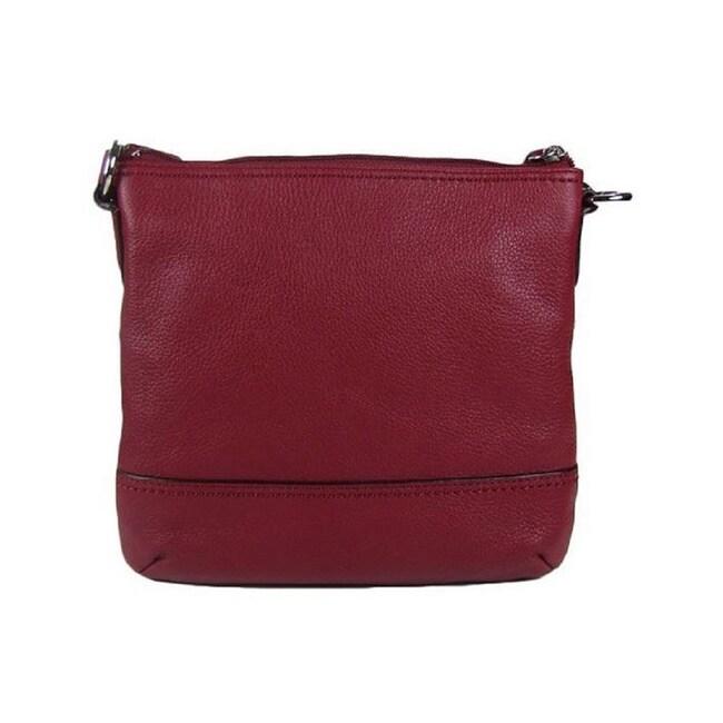 a95a65daa535 Shop Coach 49170 Cherry Handbag - On Sale - Free Shipping Today - Overstock  - 9782093