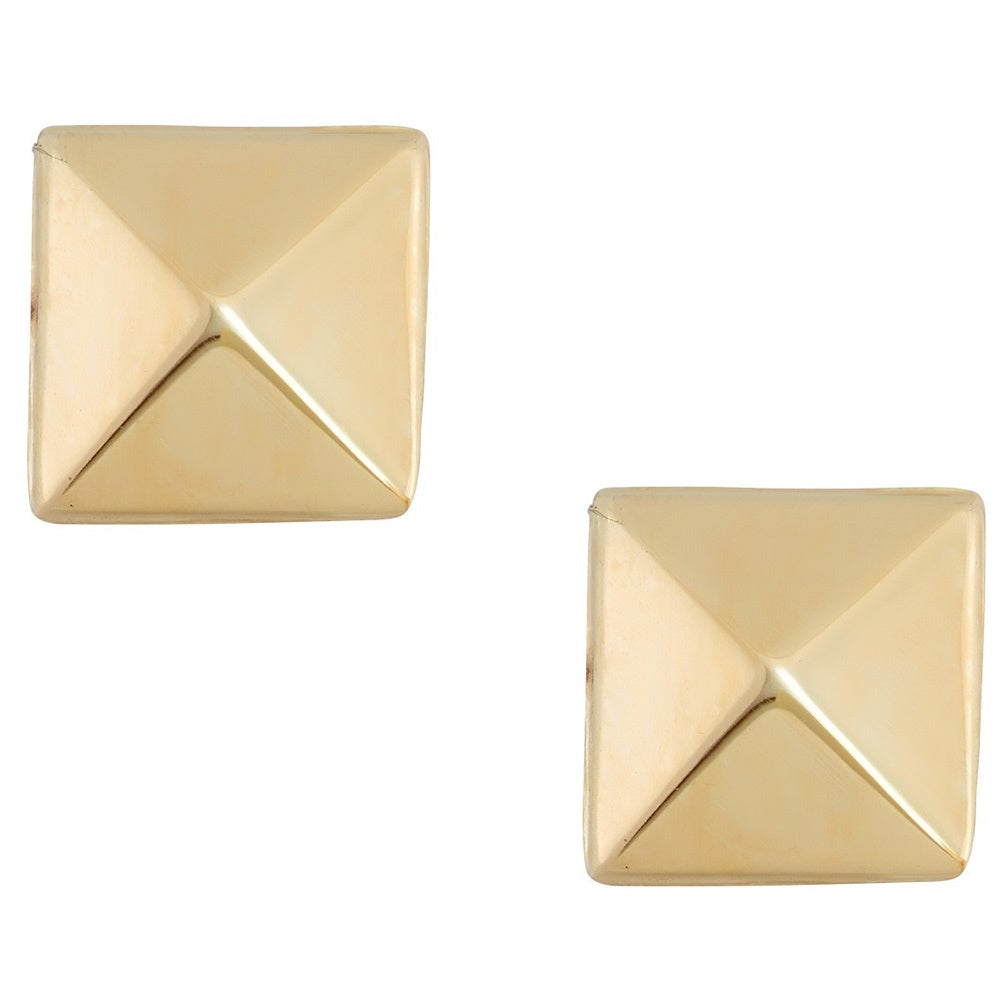glitter in earrings products and jewellery little pyramid gold stud kite collections wood studs