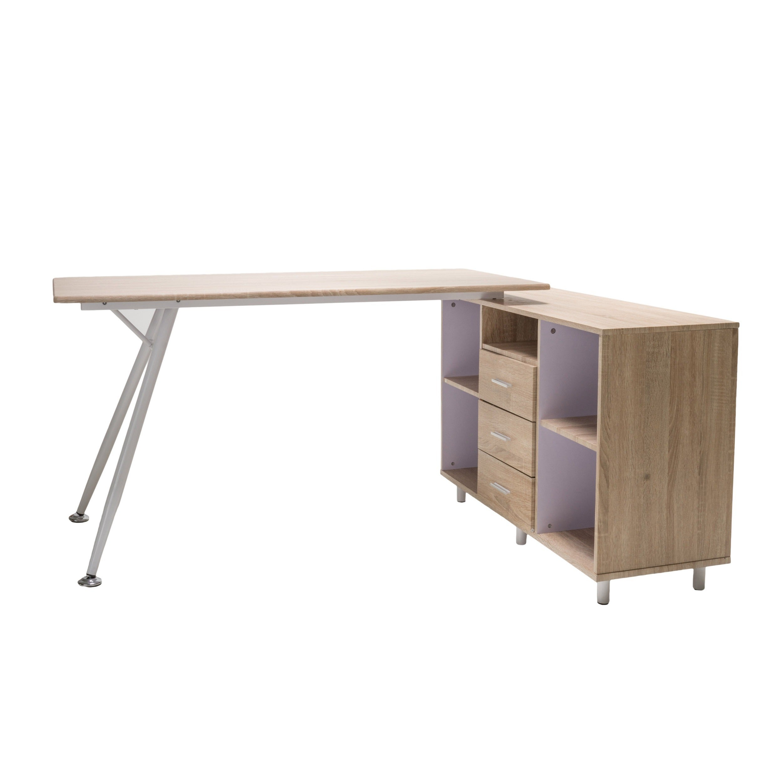Shop Delta Computer Desk With Storage Cabinet By Christopher Knight Home    Free Shipping Today   Overstock.com   9793463