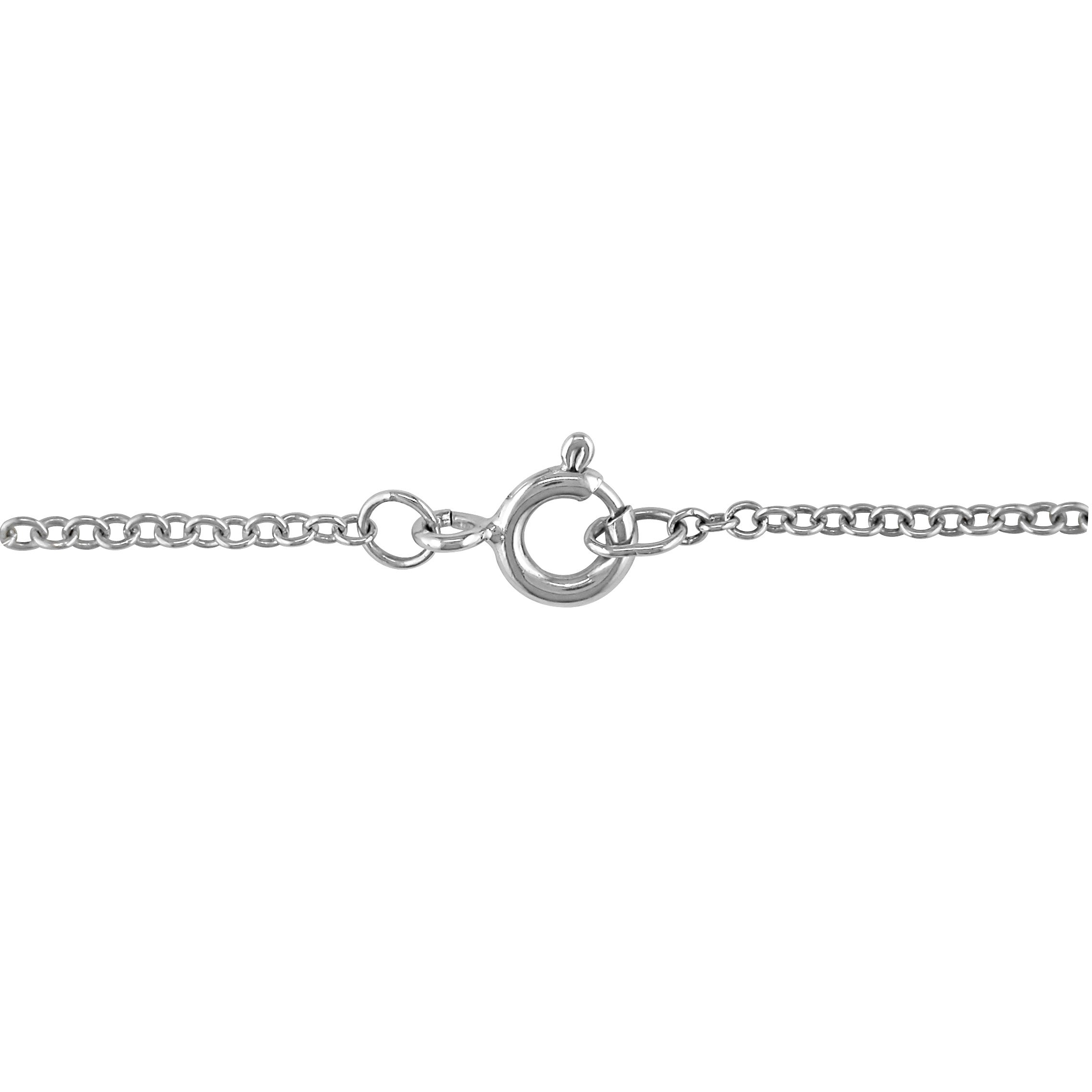 width grams p silver weight mm necklace sterling infinity length cz knot