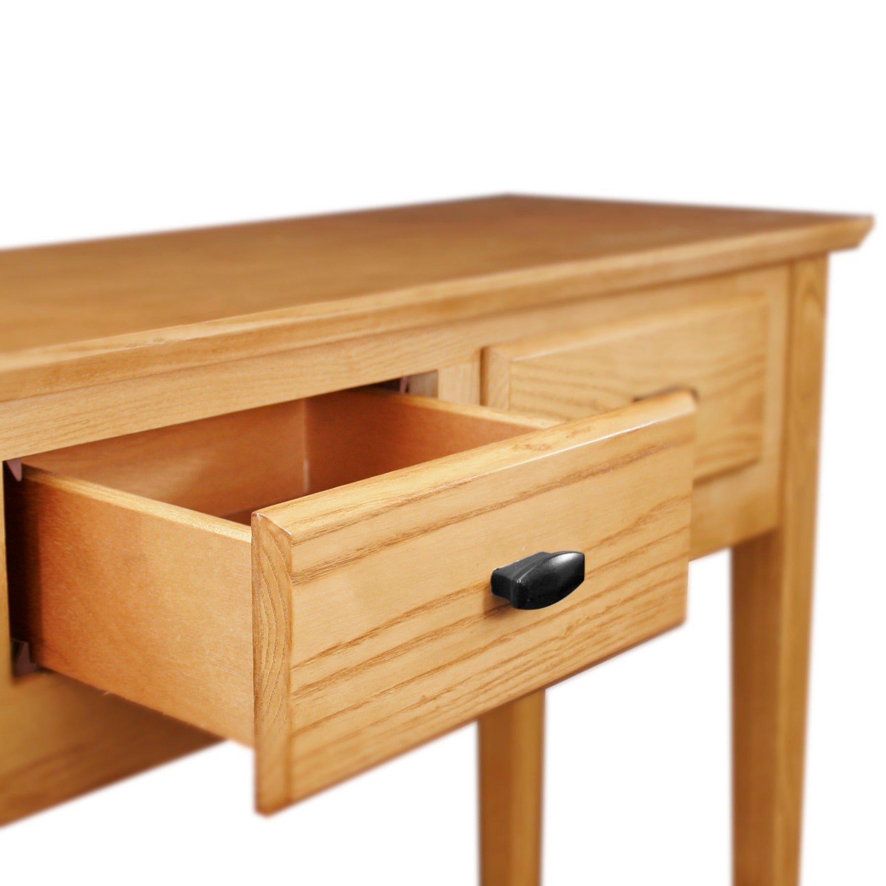 Kd Furnishings Solid Oak Hall Console Sofa Table Free Shipping  ~ Oak Sofa Table With Drawers