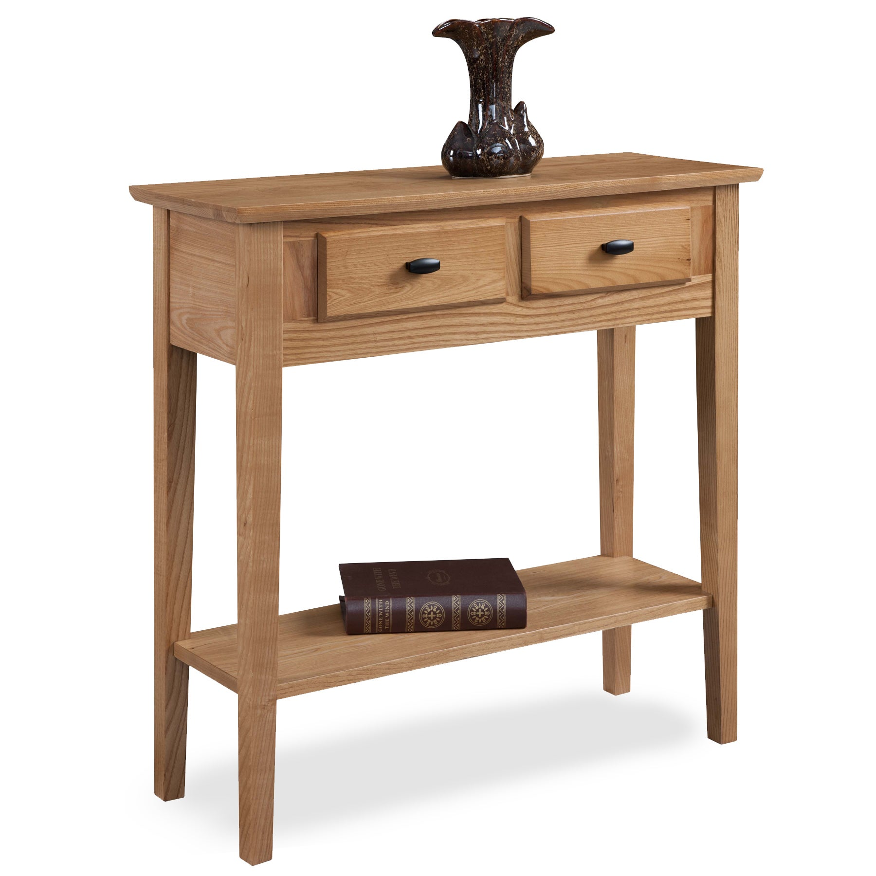 Elegant KD Furnishings Solid Oak Hall Console/ Sofa Table   Free Shipping Today    Overstock   16964596