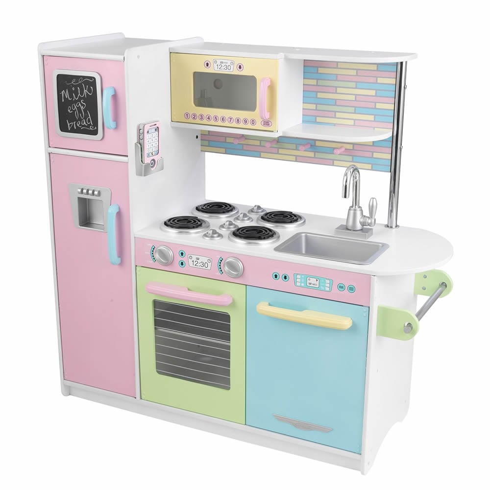 KidKraft Uptown Pastel Kitchen - Free Shipping Today - Overstock ...