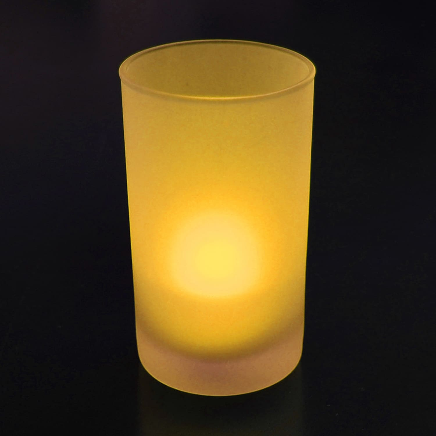 Battery Operated Amber LED Tea Light Candles (12-pack) - Free Shipping On  Orders Over $45 - Overstock.com - 16964899
