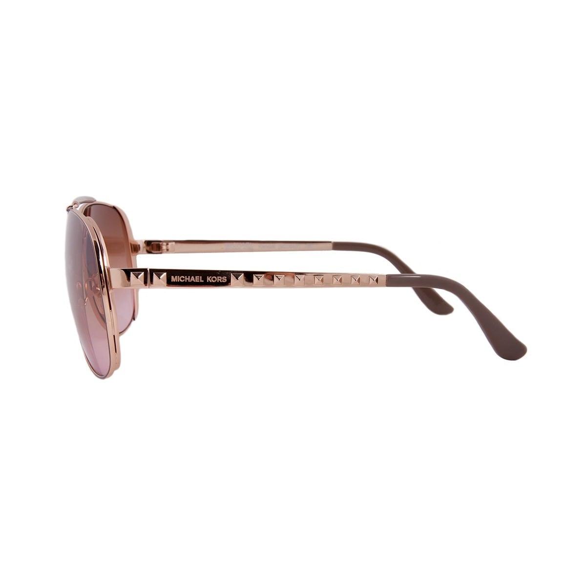 Shop Michael Kors Women s M2064S Kendall Aviator Rose  Gold Sunglasses -  Free Shipping Today - Overstock.com - 9800971 01ff7e977c