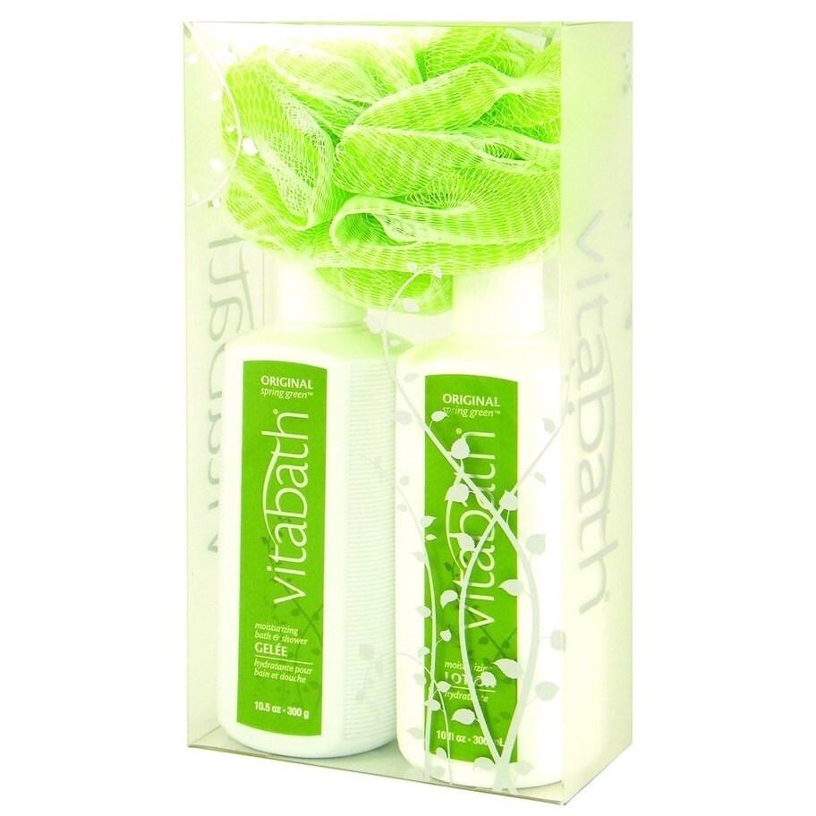 Vitabath Original Spring Green Lotion/ Gelee Everyday Set - Free ...