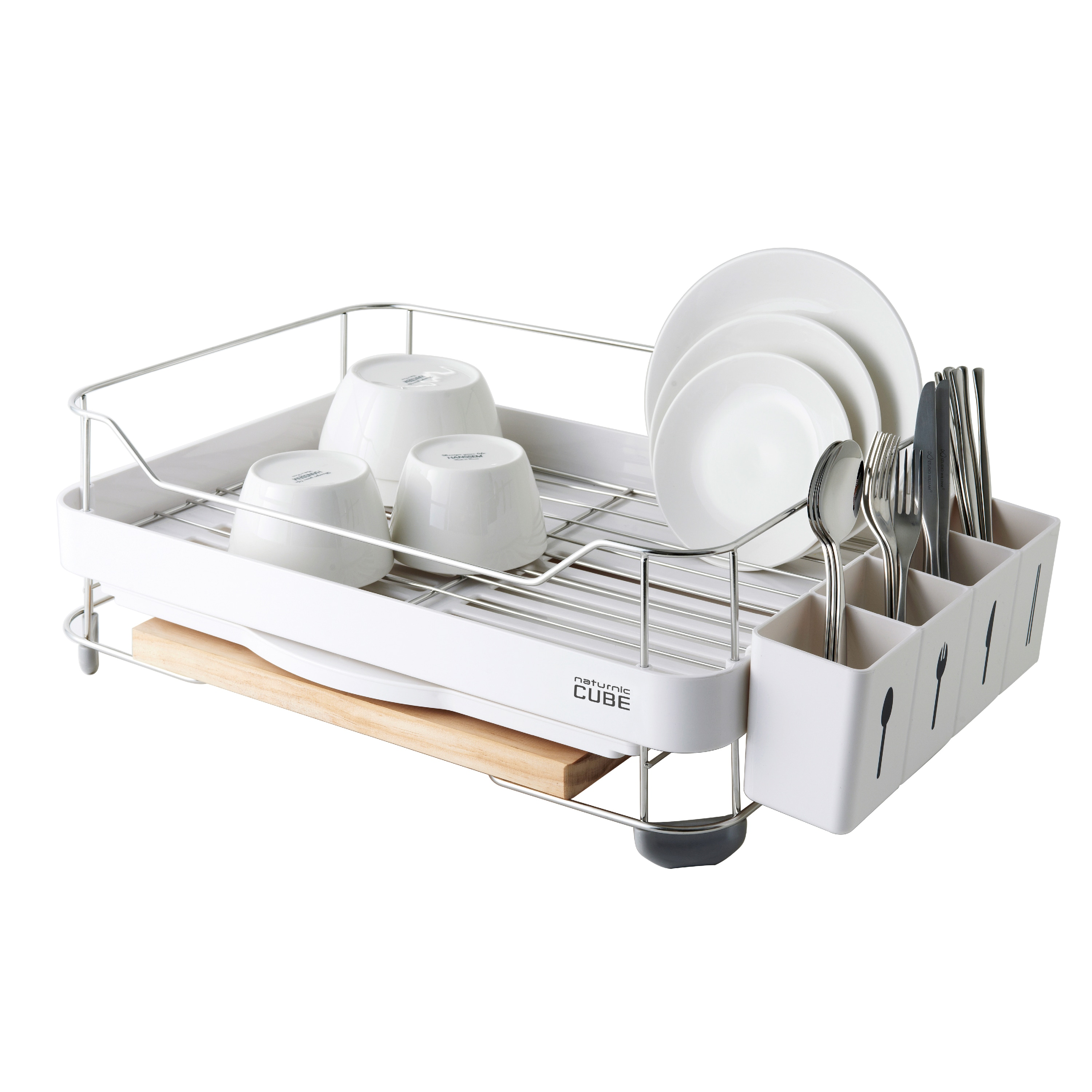 Naturnic Wide System Dish Rack - Free Shipping Today - Overstock.com -  16971760