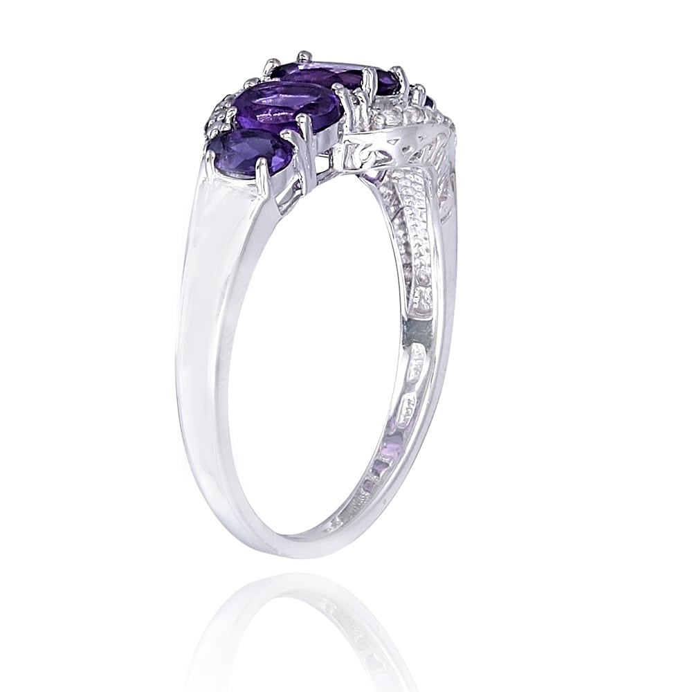 shop charming vintage online ring product wedding anel purple women stone rings