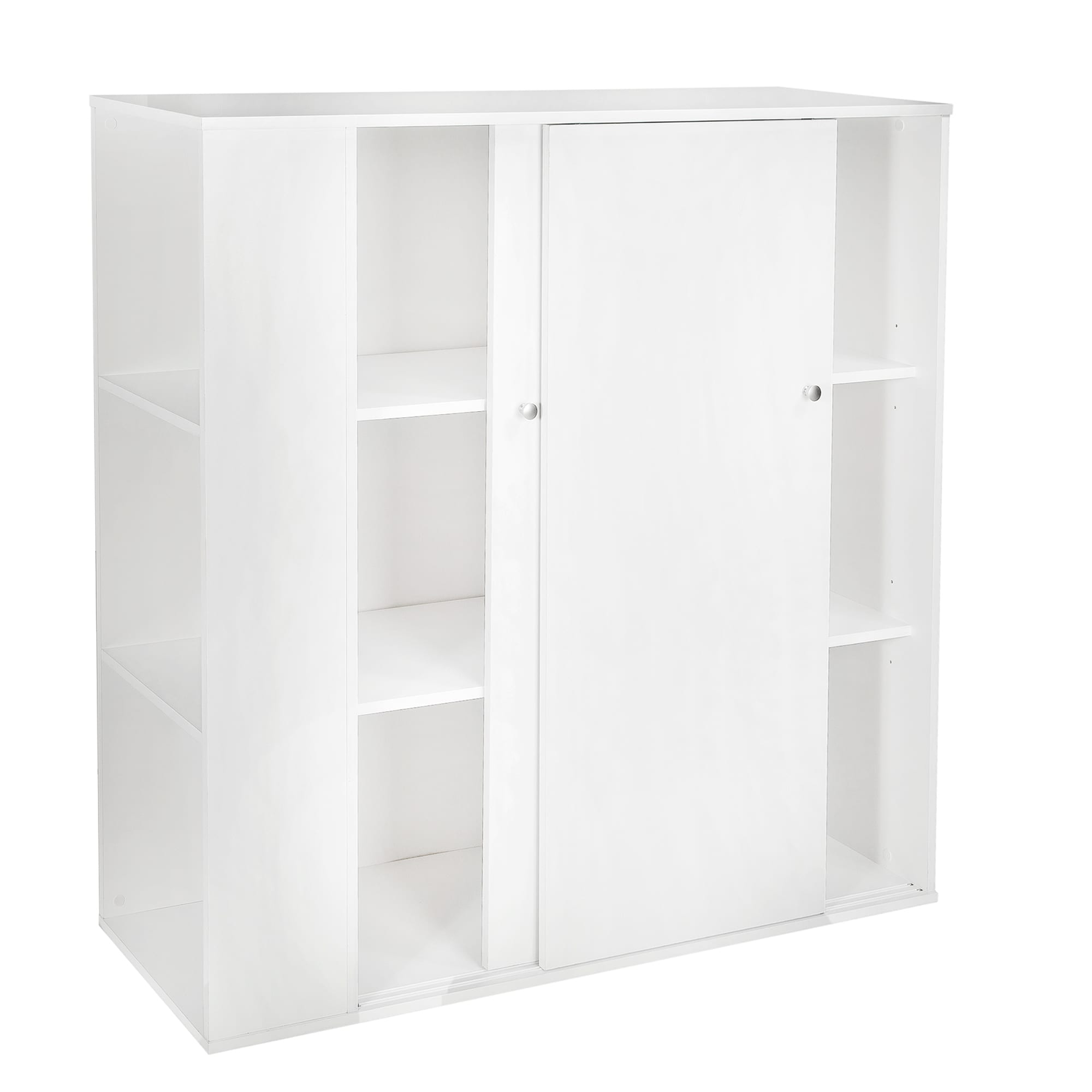 Charmant Shop South Shore Storit Pure White Sliding Door Kidu0027s Storage Cabinet   On  Sale   Free Shipping Today   Overstock.com   9809666