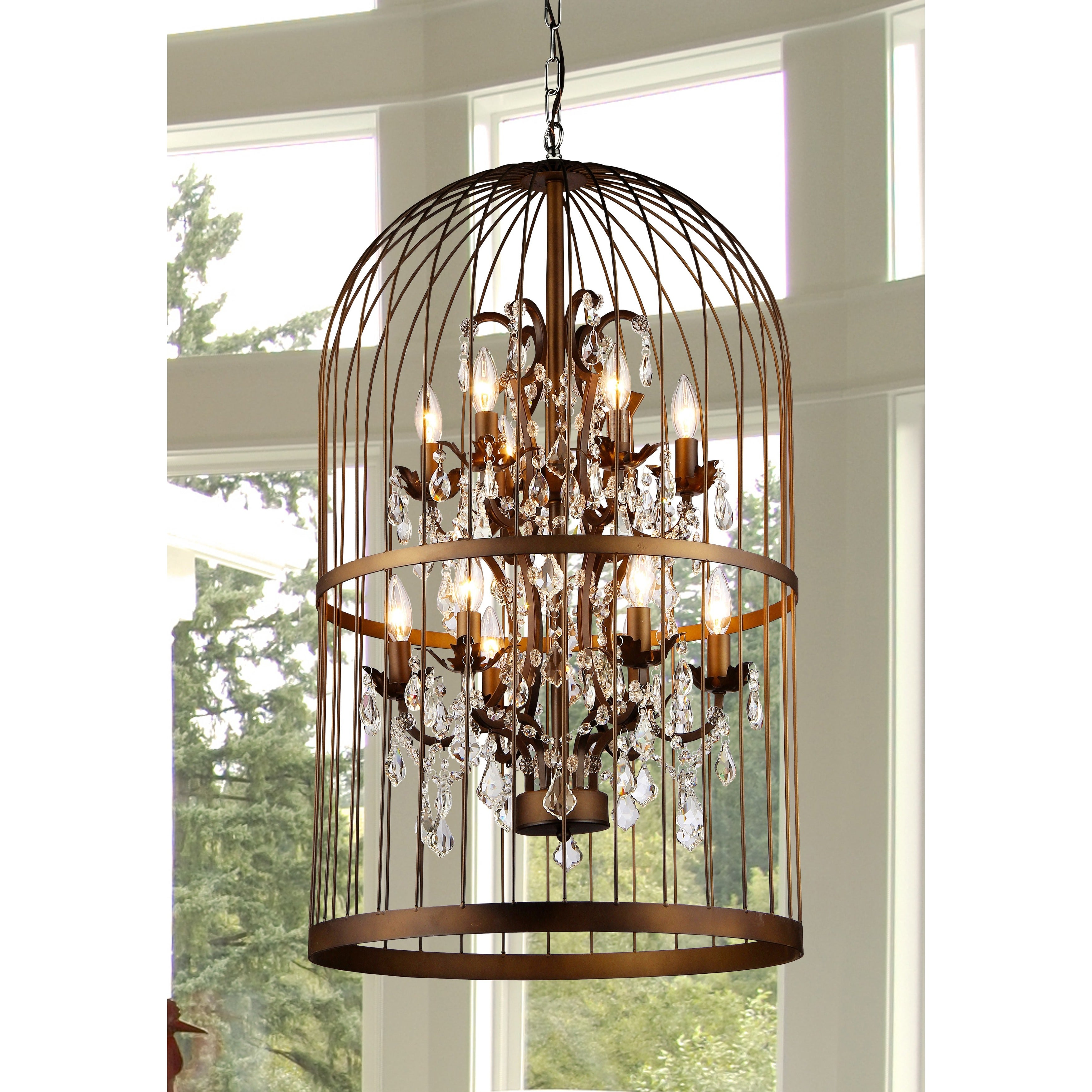 Warehouse of tiffany rinee iii cage chandelier free shipping warehouse of tiffany rinee iii cage chandelier free shipping today overstock 16976644 arubaitofo Images