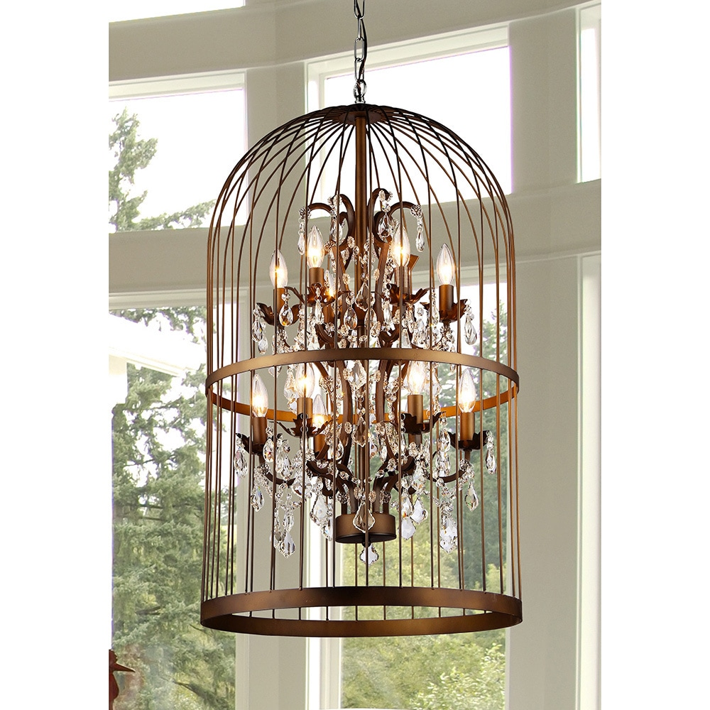 Warehouse of tiffany rinee ii cage chandelier free shipping today warehouse of tiffany rinee ii cage chandelier free shipping today overstock 16976645 arubaitofo Image collections