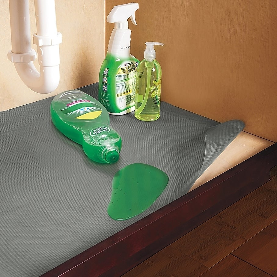 Merveilleux Shop Con Tact Brand Non Adhesive Non Slip Under Sink Mat, 24 Inch X  48 Inch, (Pack Of 6)   On Sale   Free Shipping Today   Overstock.com    9811760