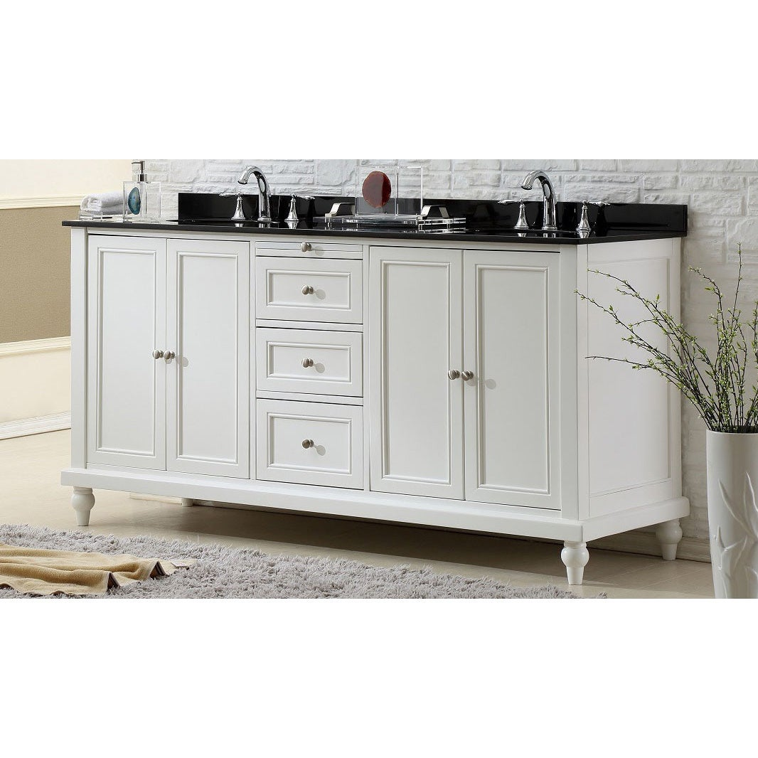 white double bathroom vanities traditional top sink ideal helena vanity