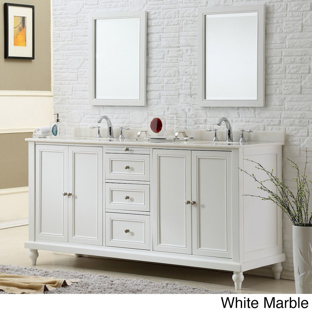 inch vanity style turnleg of white decoration gallery console mission sink modern bathroom carrera double picture with