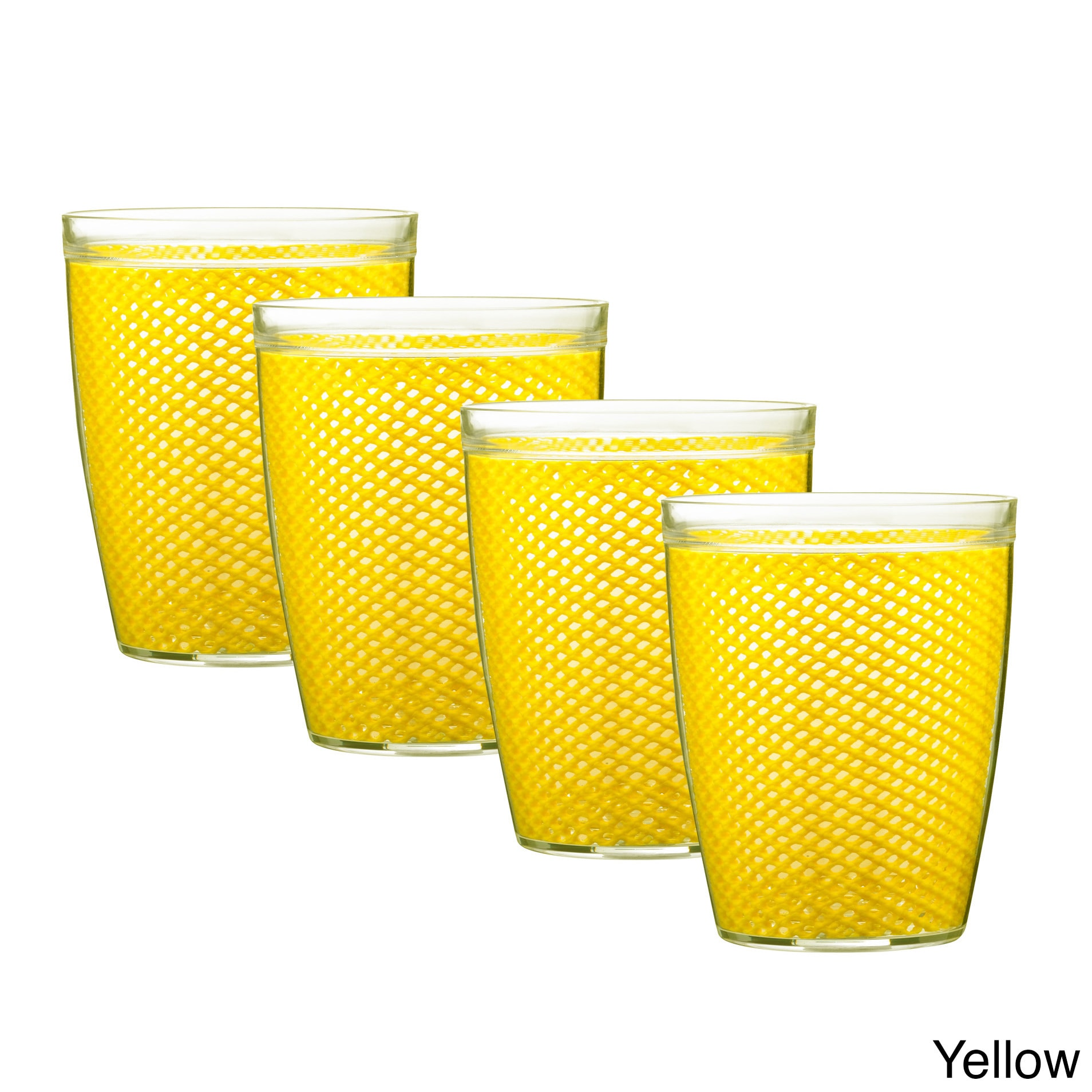 Shop Fishnet Double Wall Drinkware (Set of 4) - Free Shipping On ...