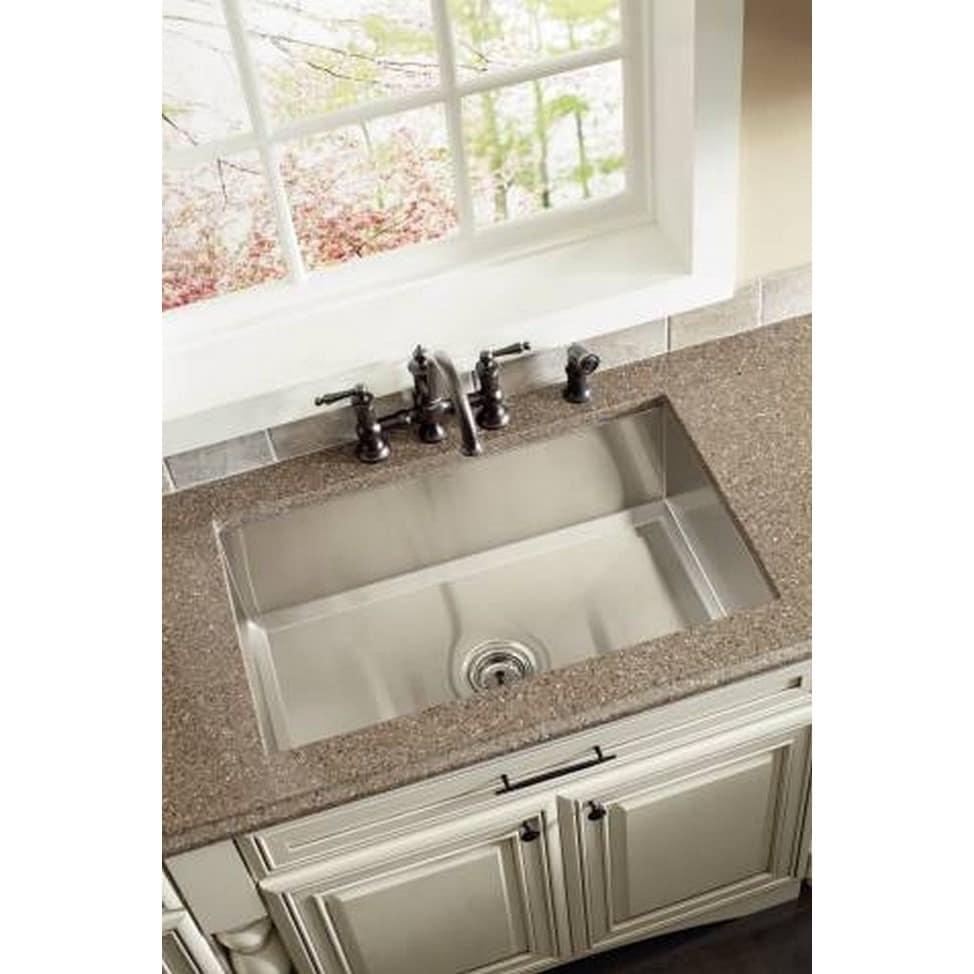 Shop Moen Waterhill S713WR Wrought Iron Kitchen Faucet - Free ...