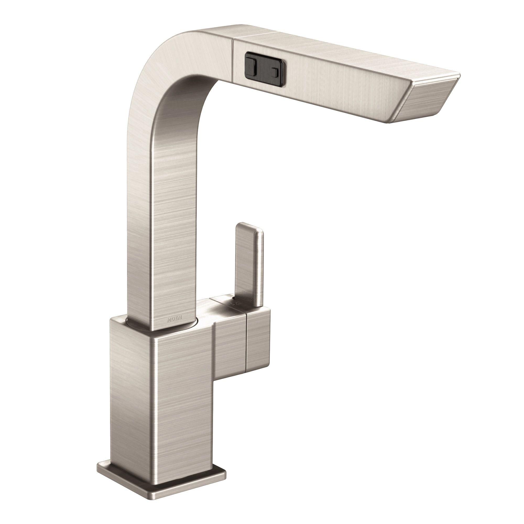 Moen S7597SRS Spot Resist Stainless Steel Kitchen Faucet - Free ...