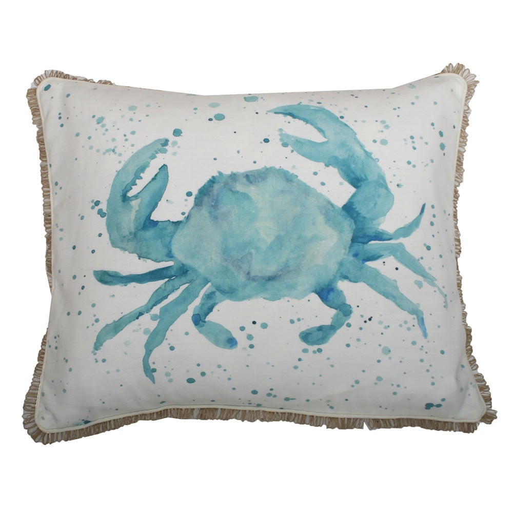 Thro by Marlo Lorenz Carmello Crab Throw Pillow - Free Shipping On ...
