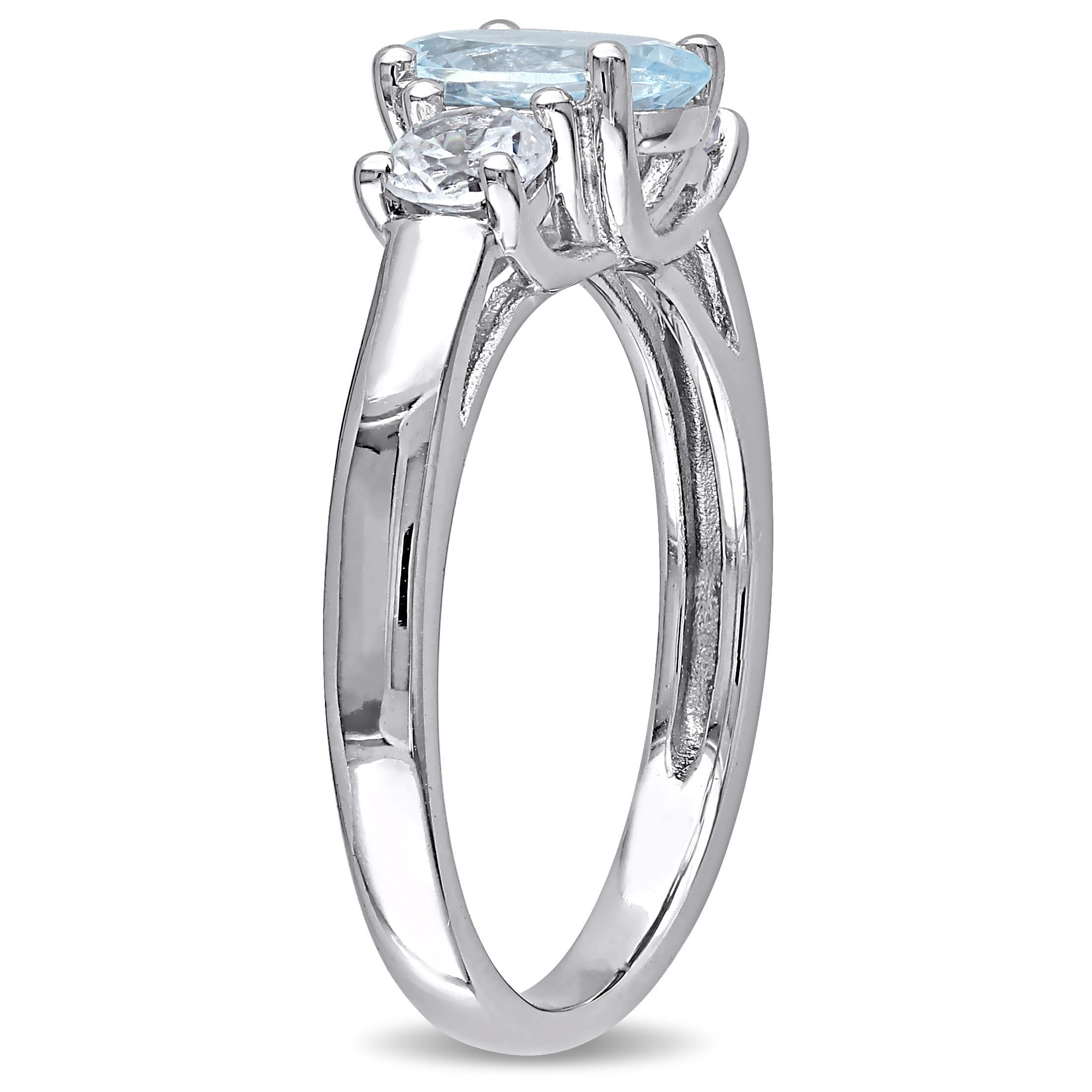 aqua cluster wedding asp rings and white marine ring pear aquamarine diamond gold p shaped