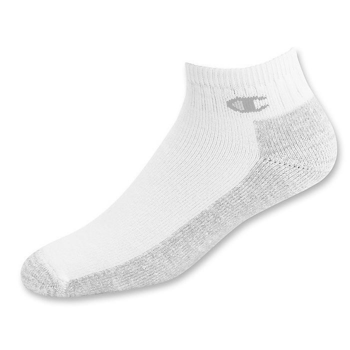 1c5a4697fdf56 Shop Champion Double Dry High Performance Men s Full Cushion Quarter Socks  (Pack of 3) - Free Shipping On Orders Over  45 - Overstock - 9821067
