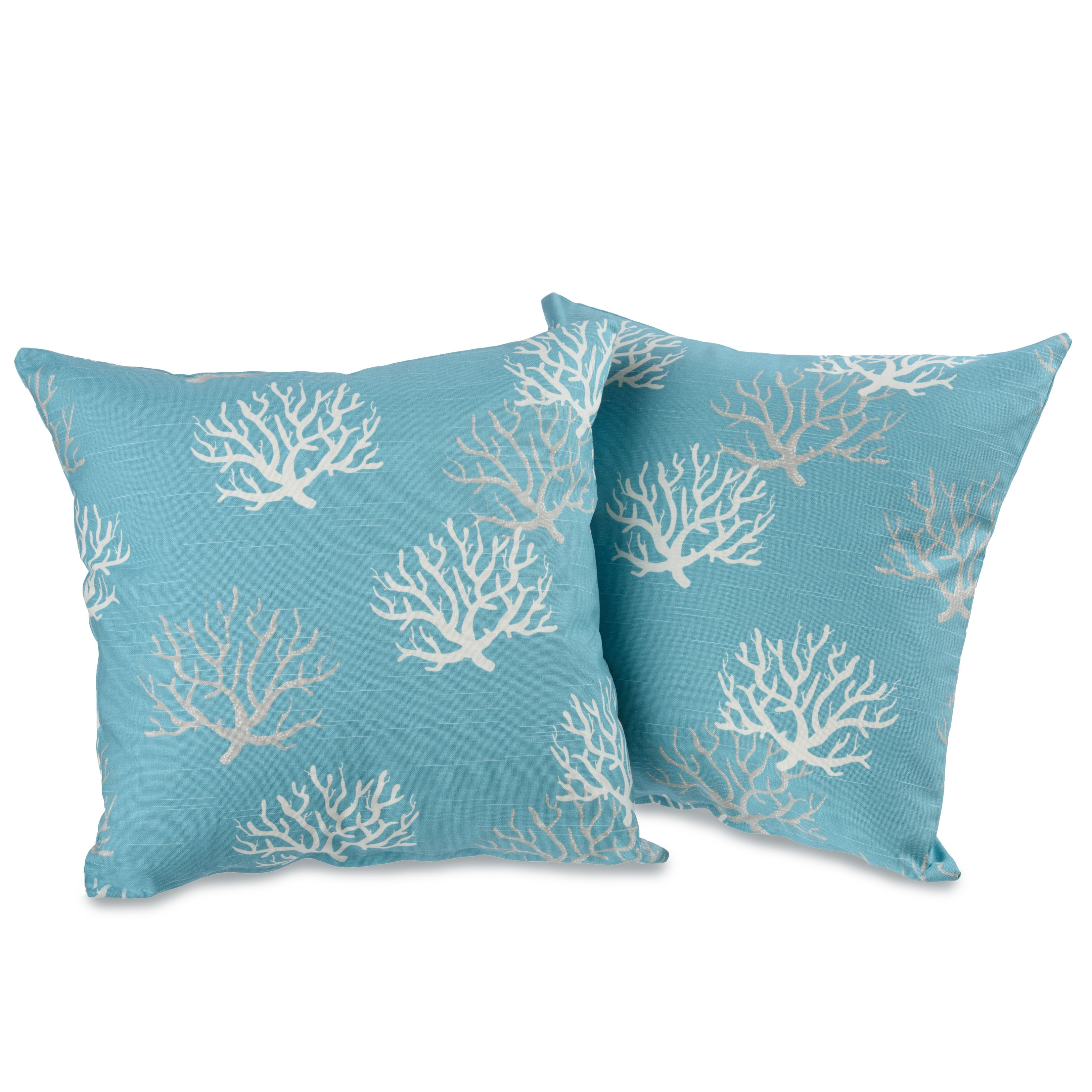 Shop captiva 20 inch decorative throw pillows set of 2 free shipping today overstock com 9821318
