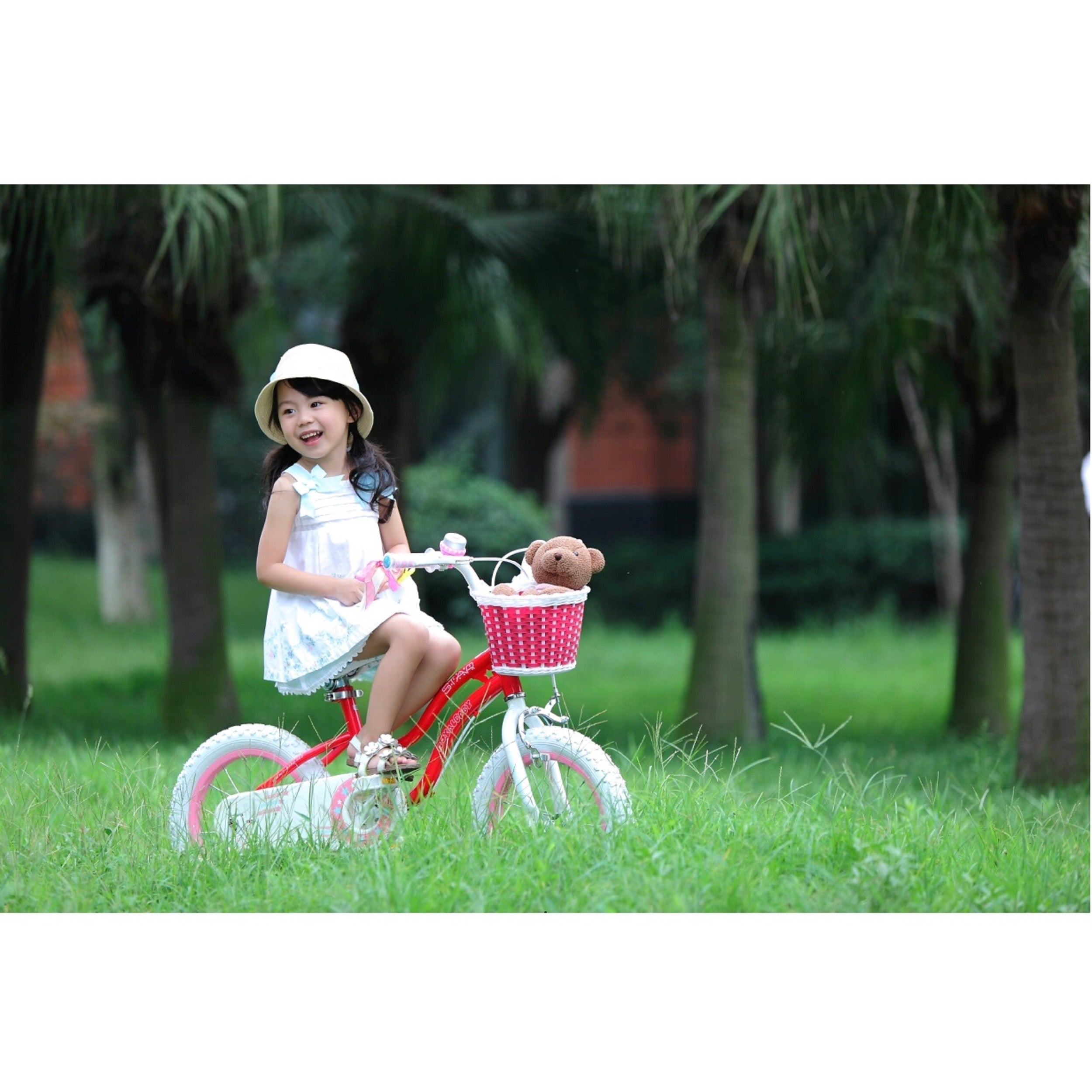 a43ac0d13d11 Shop Royalbaby Stargirl 14-inch Kids' Bike with Training Wheels and Basket  - Free Shipping Today - Overstock - 9821893