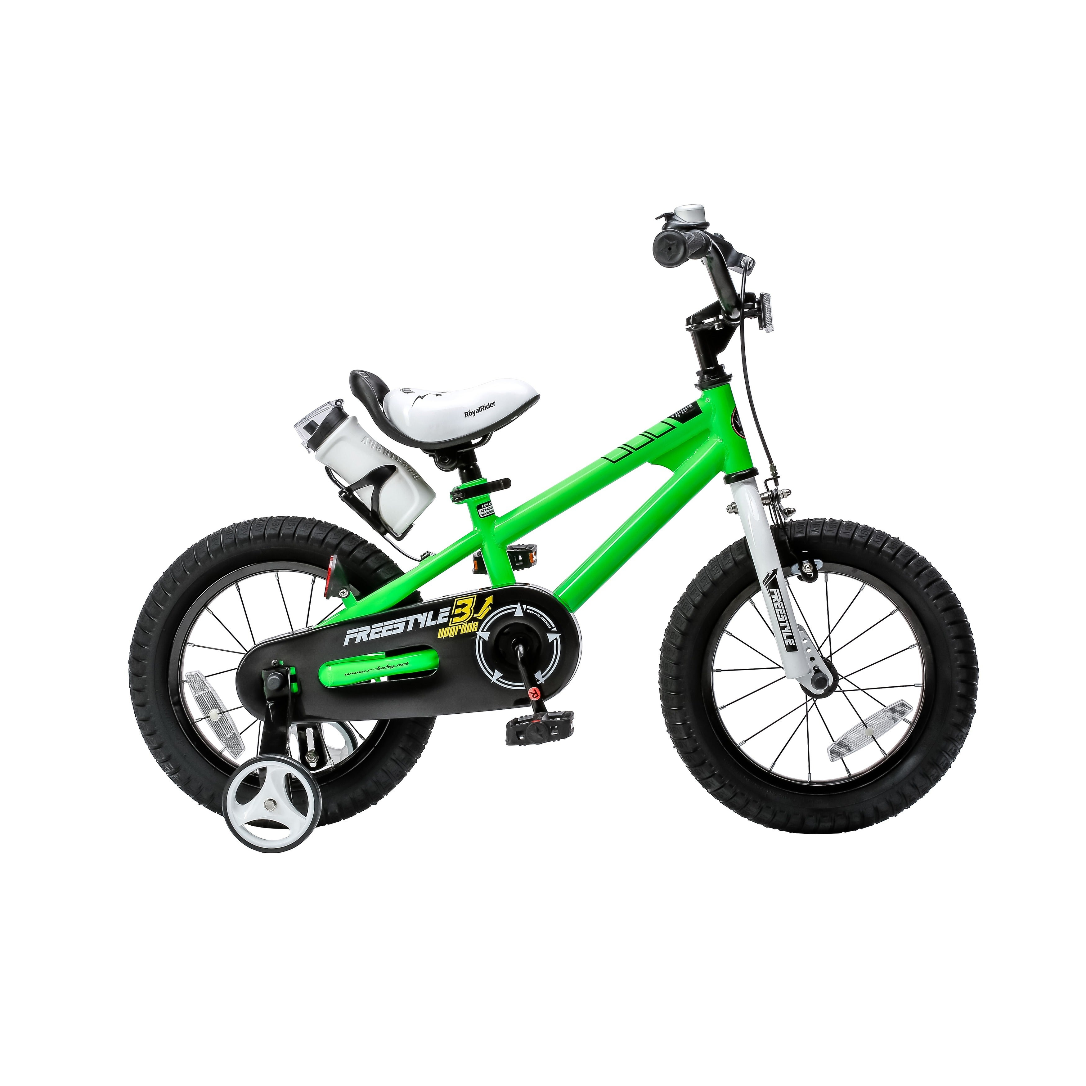 Shop RoyalBaby Kids\' Steel/Plastic 16-inch BMX Freestyle Bike with ...