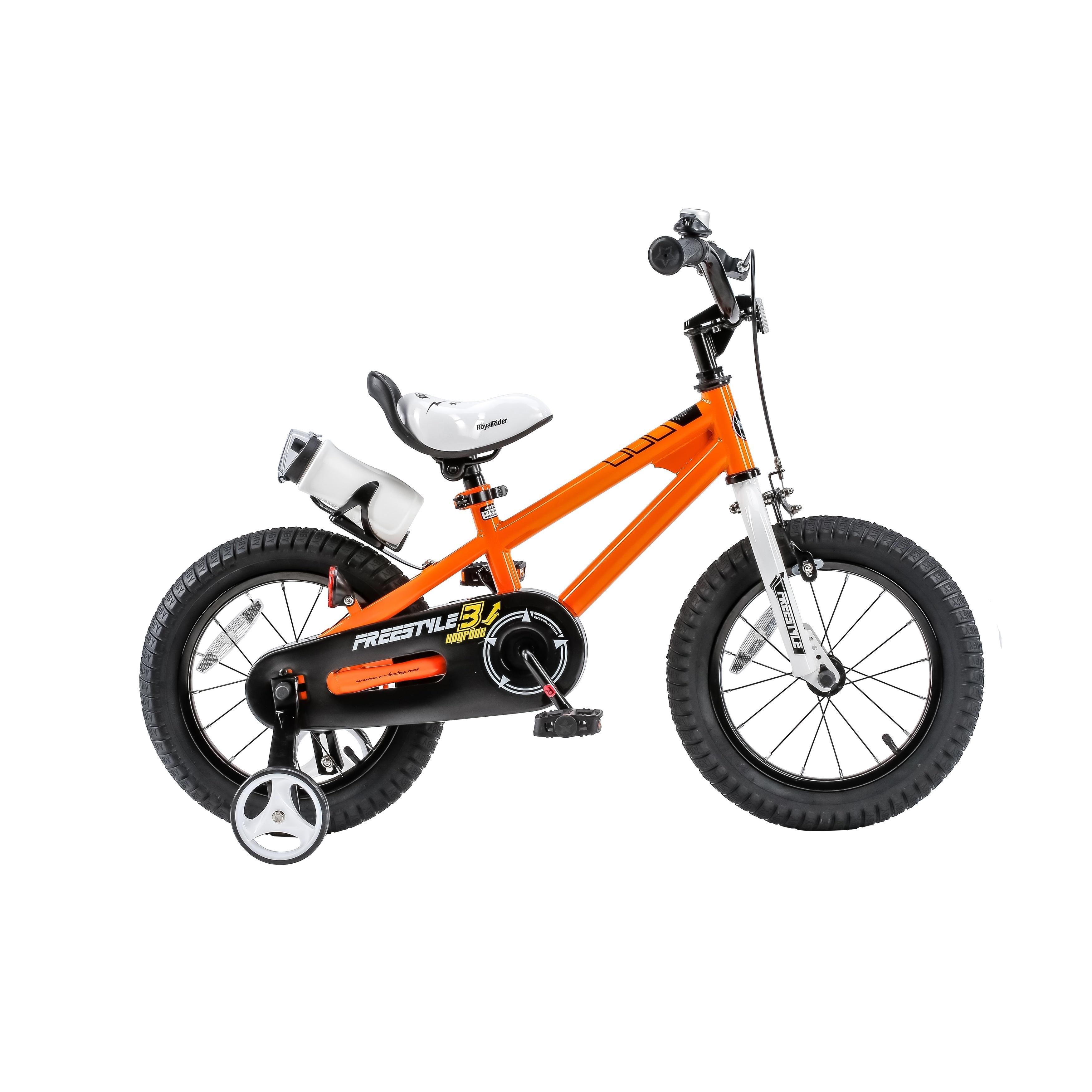 d2a3823c282 RoyalBaby Kids' Steel/Plastic 16-inch BMX Freestyle Bike with Training  Wheels