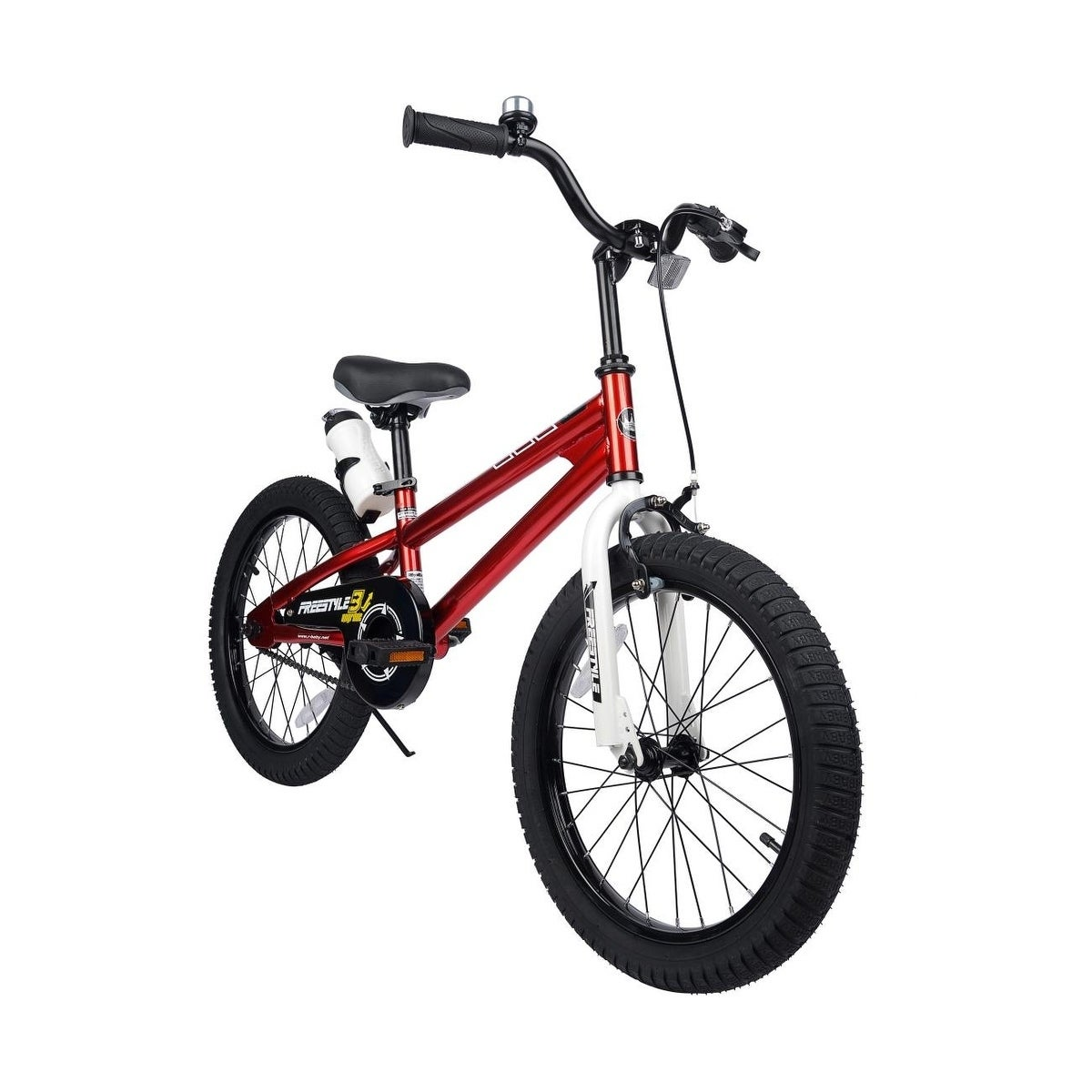 e6dfff8c260 Shop RoyalBaby BMX Freestyle 18-inch Kids' Bike with Training Wheels - Free  Shipping Today - Overstock - 9821985