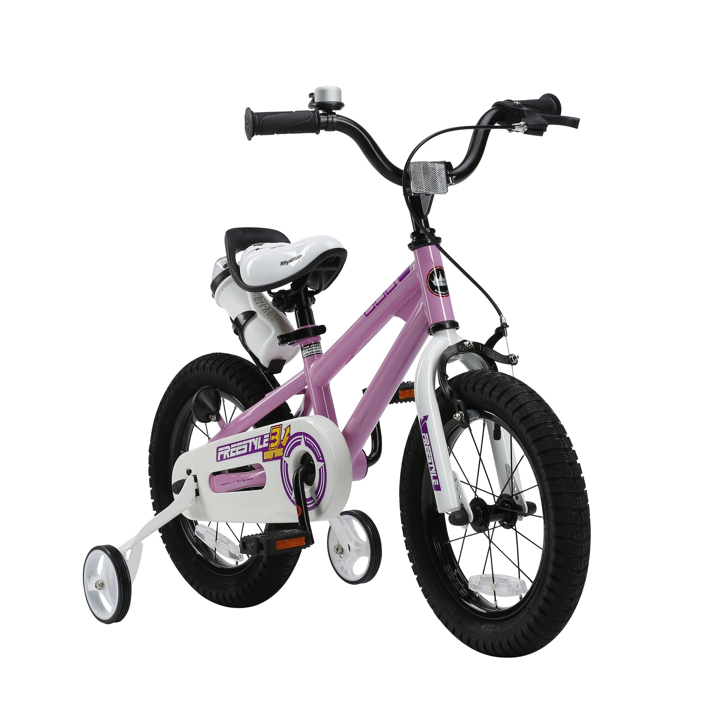 ebc257eb2140 Shop RoyalBaby BMX Freestyle 18-inch Kids' Bike with Training Wheels .