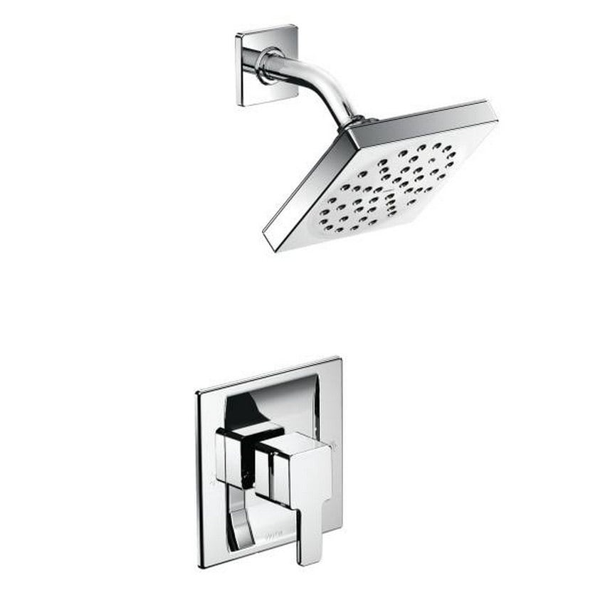 Shop Moen 90 Degree Chrome Posi-Temp® Shower Only TS2712 Chrome ...
