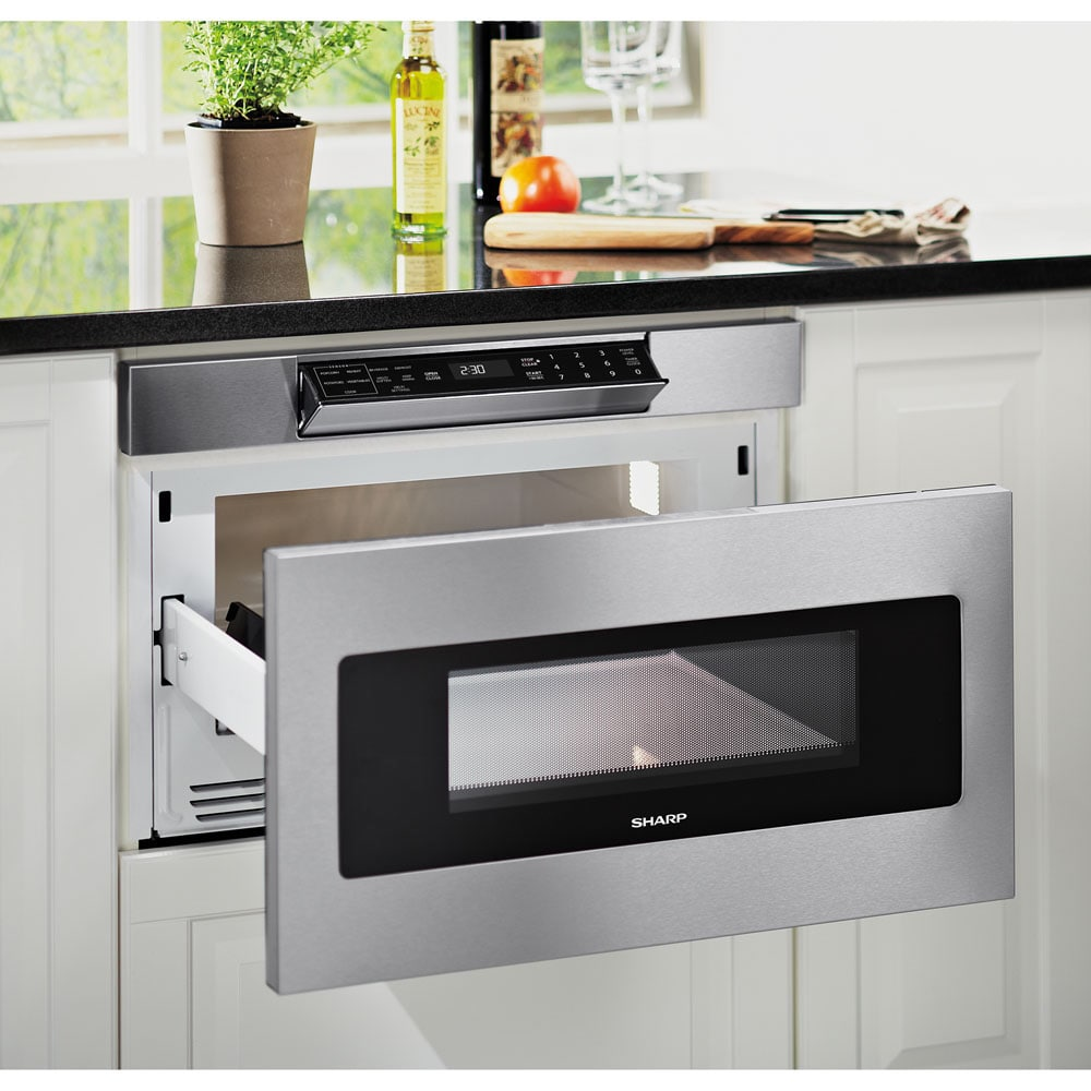 Sharp Stainless Steel 24-inch Microwave Drawer - Free Shipping Today ...