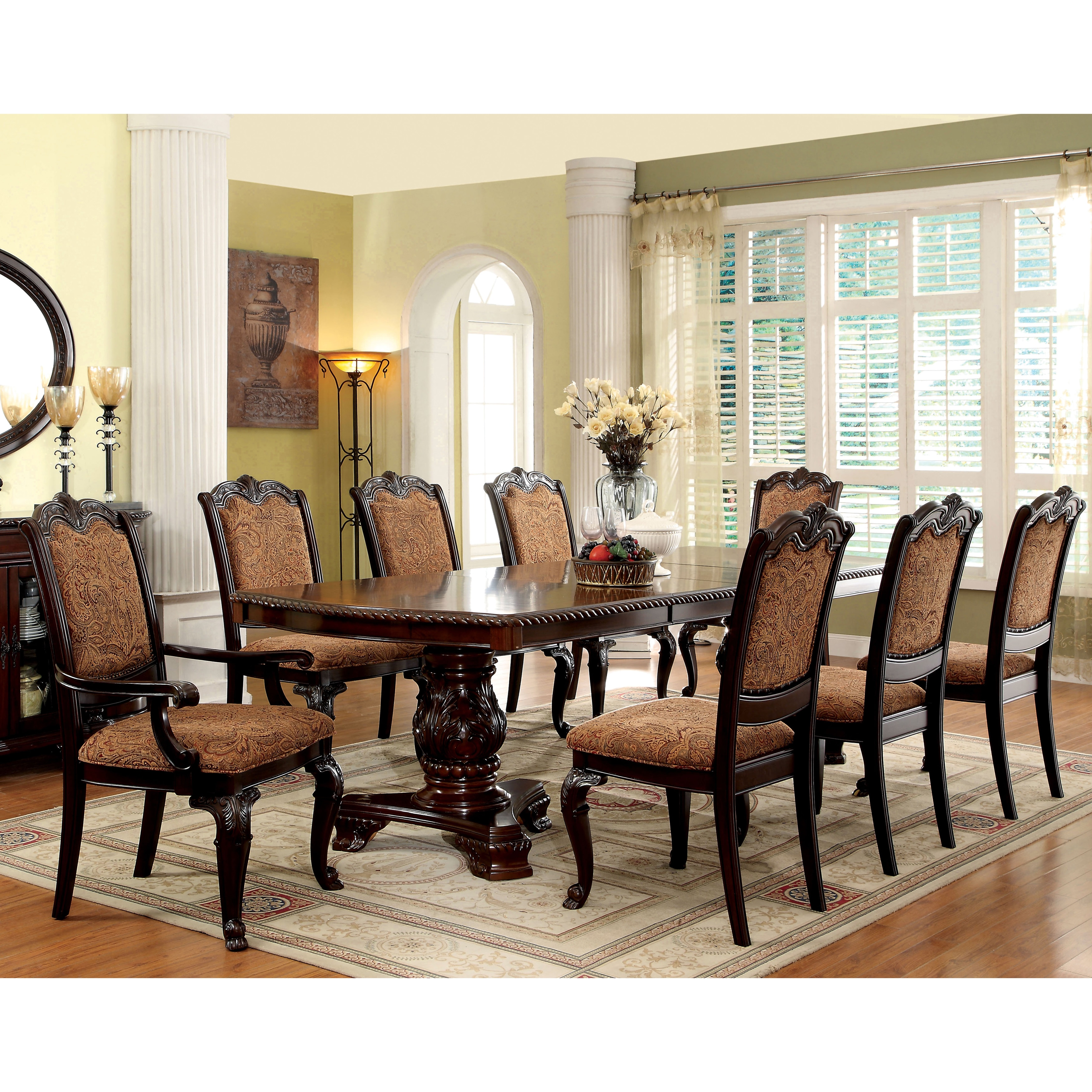 Shop Furniture Of America Oskarre Formal Fabric Arm Chairs (Set Of 2)    Free Shipping Today   Overstock.com   9828284