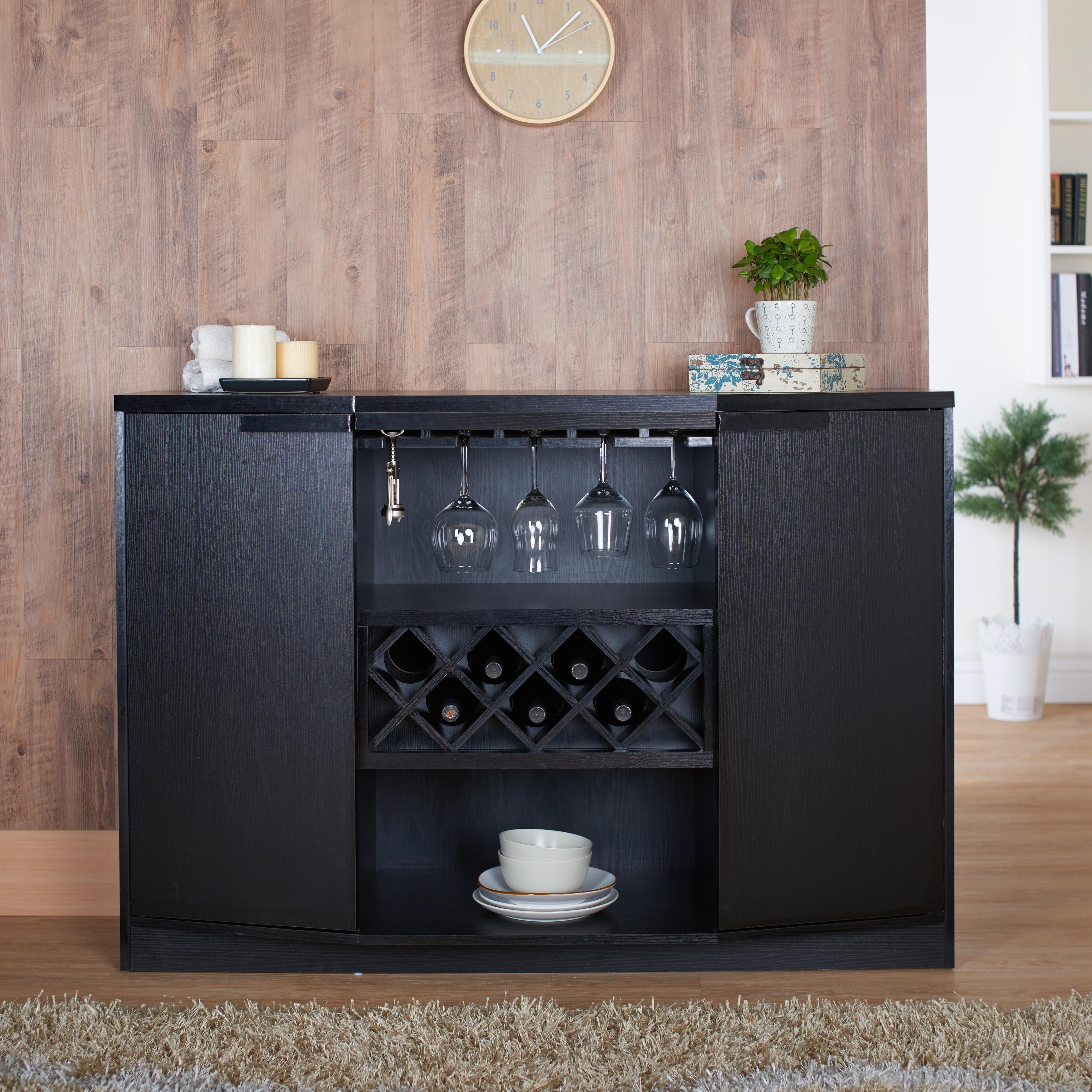 Furniture of America Chapline Wine Bar Buffet - Free Shipping ...