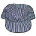 Adult Blue/ White Train Conductor Hat