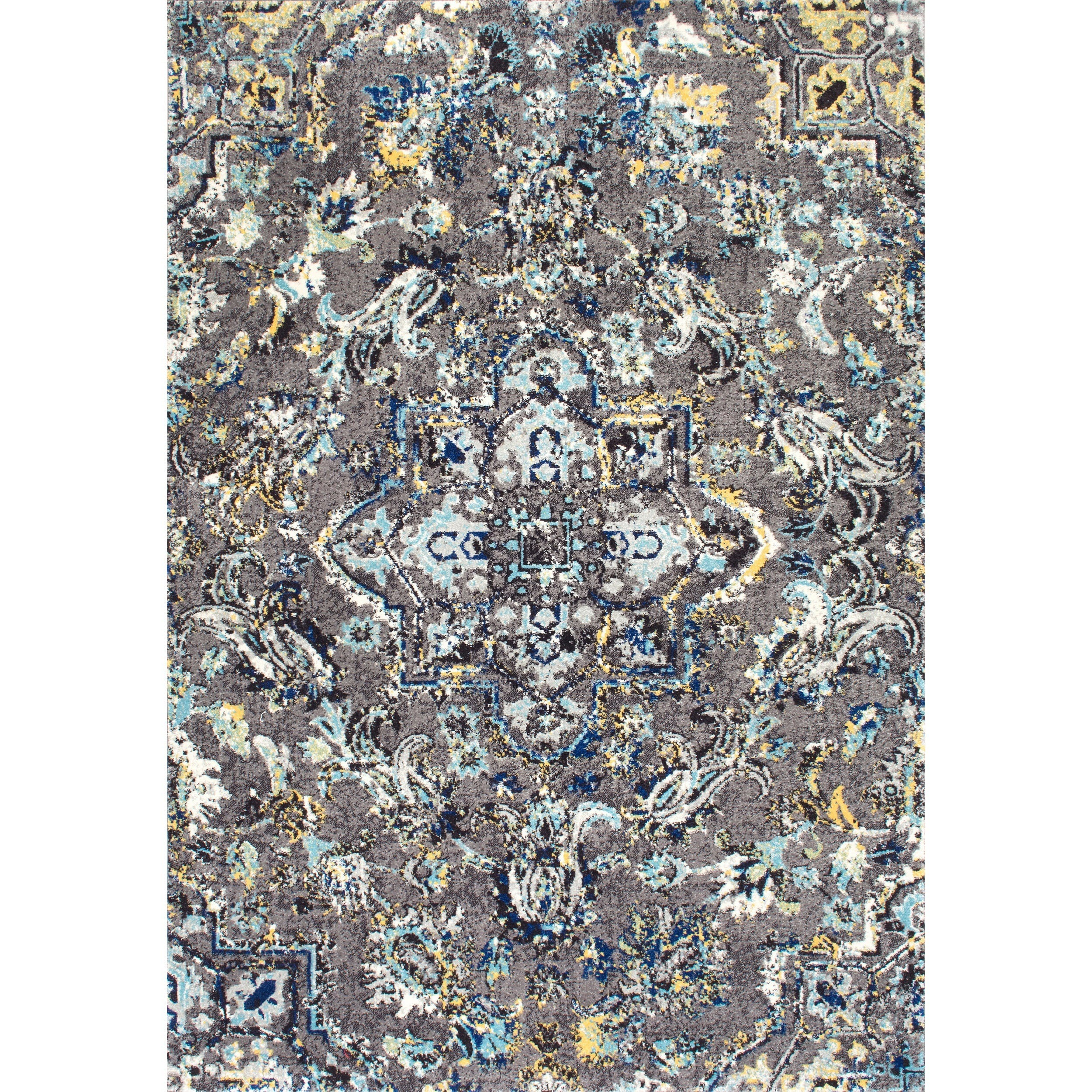 Shop nuloom modern abstract vintage area rug on sale free shipping on orders over 45 overstock com 9913439