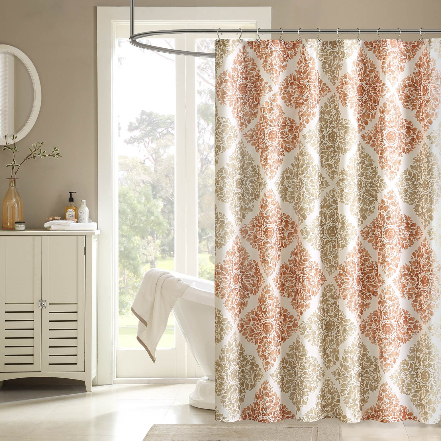Madison Park Montecito Shower Curtain - Free Shipping On Orders ...