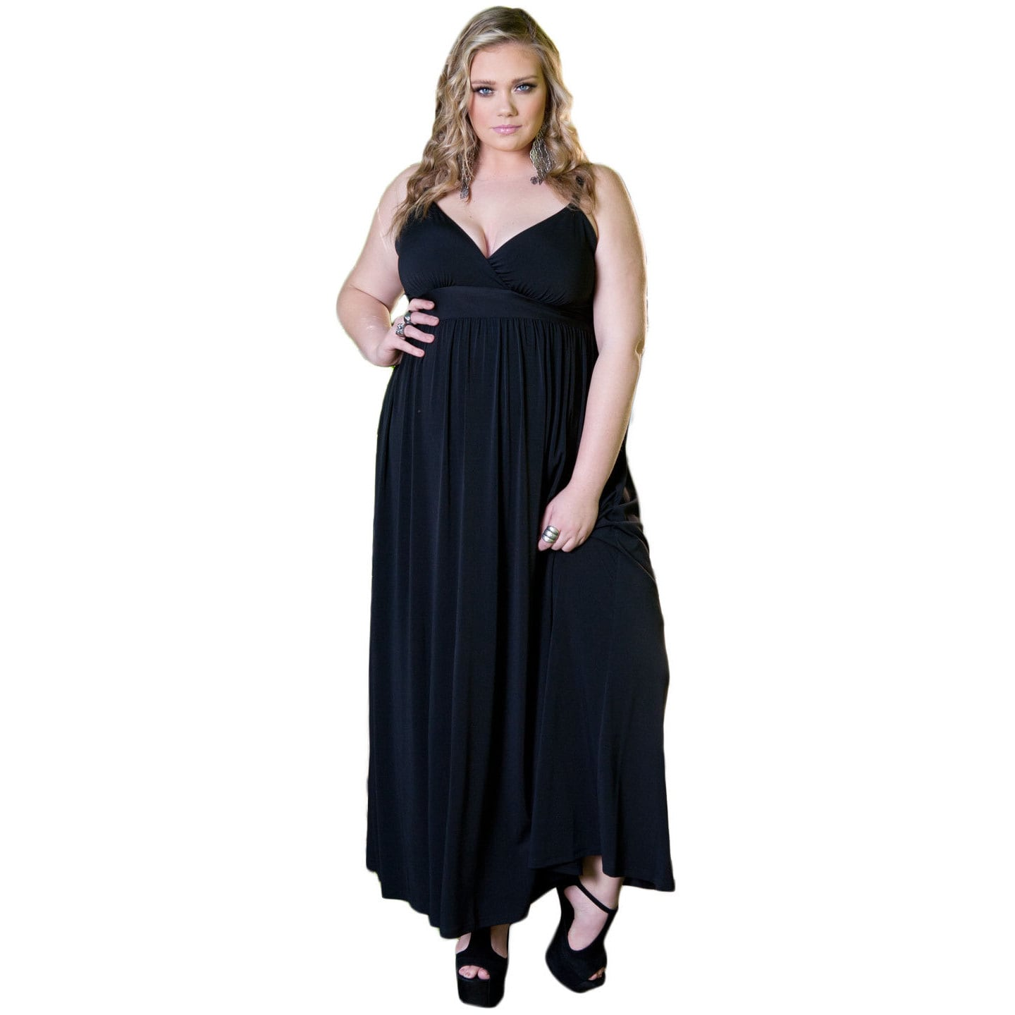 Shop Sealed with a Kiss Women\'s Plus Size \'Sabrina\' Maxi Dress ...