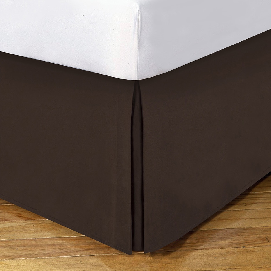 Lux Hotel 14 Inch Drop Bedskirt On Free Shipping Orders Over 45 9921053