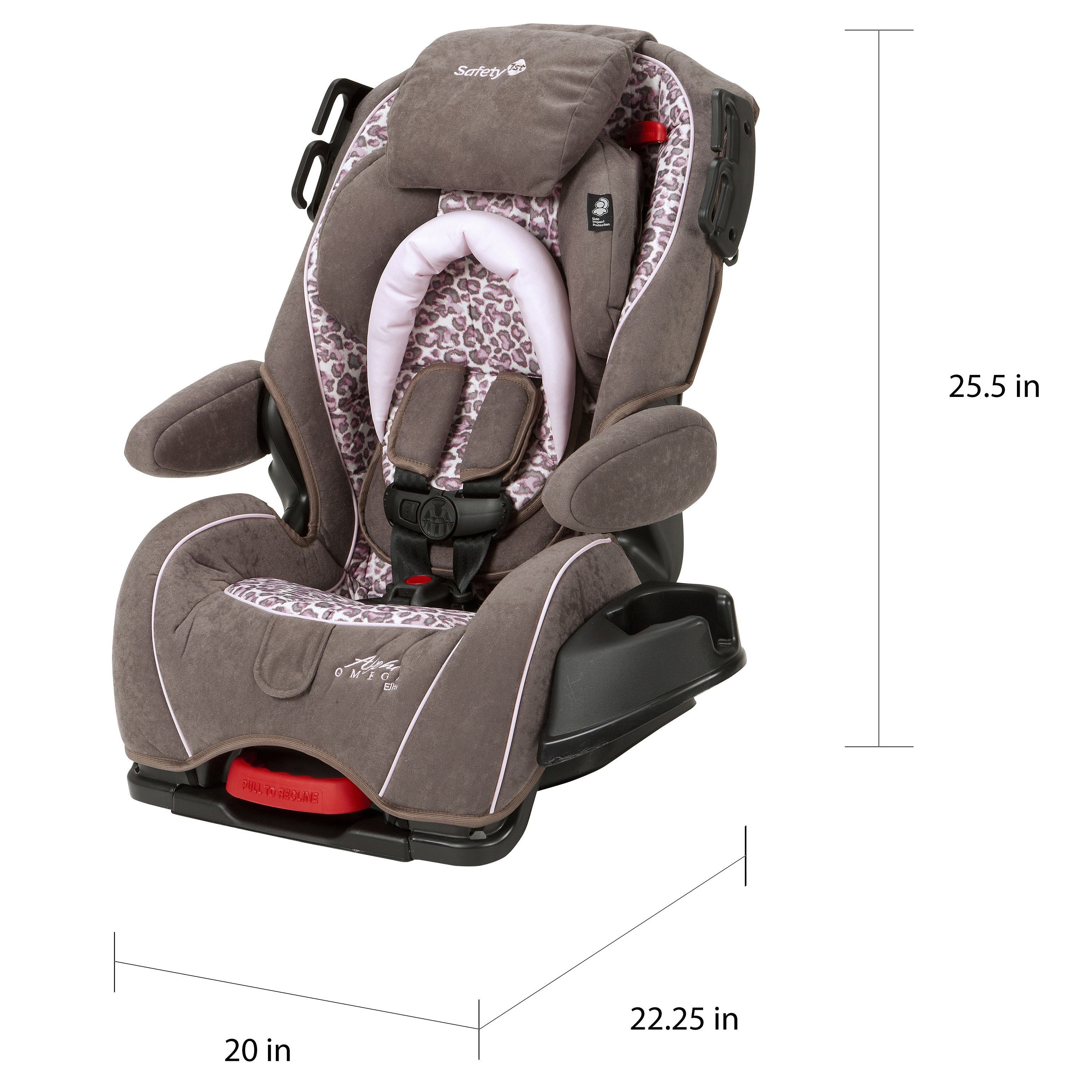 Safety 1st Alpha Omega Elite Pretty Paws Convertible Car Seat