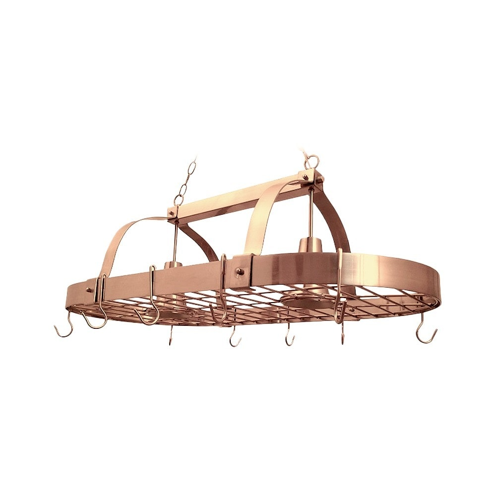 Shop Elegant Designs Home Collection 2-light Kitchen Pot Rack - On ...