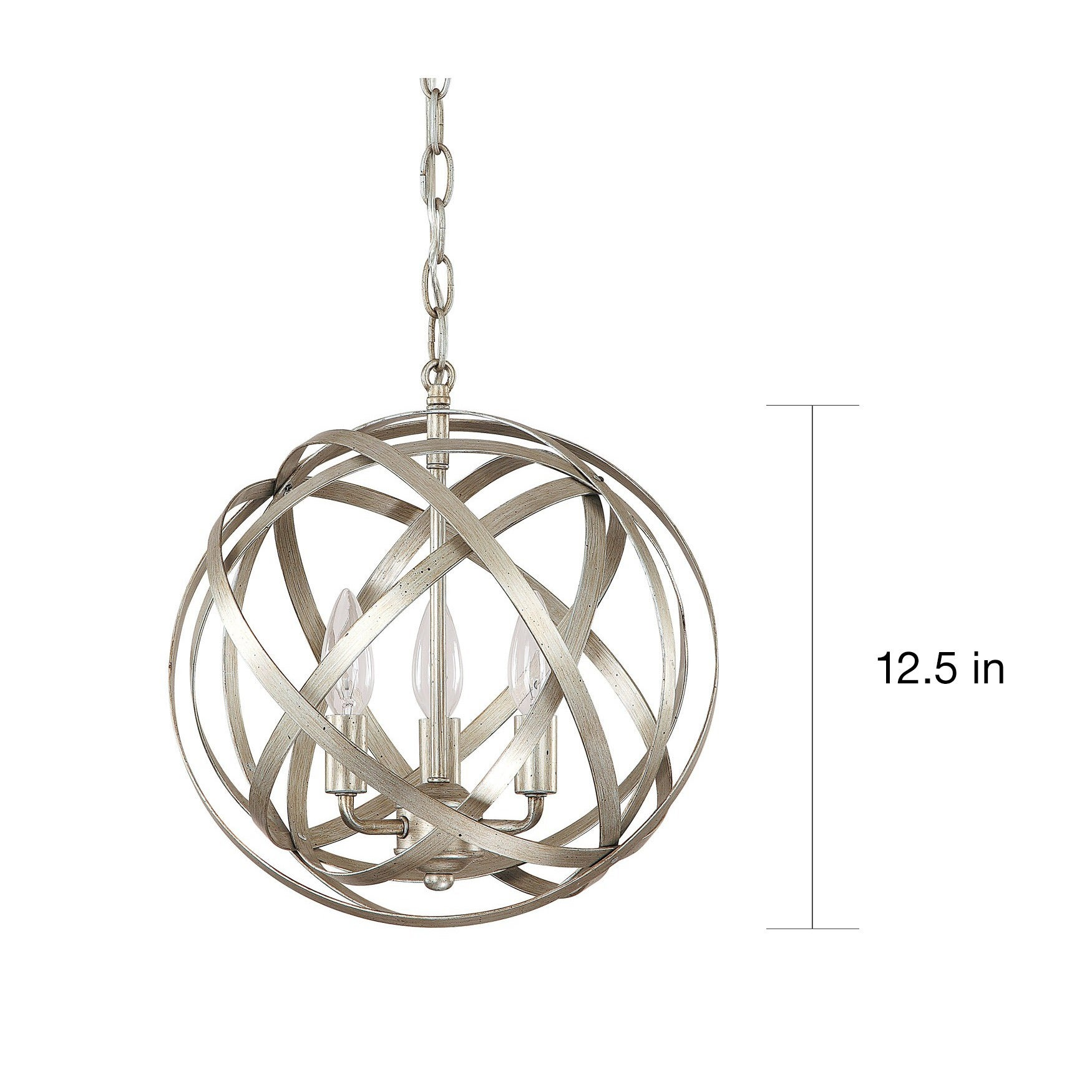 shop capital lighting axis collection 3 light winter gold orb