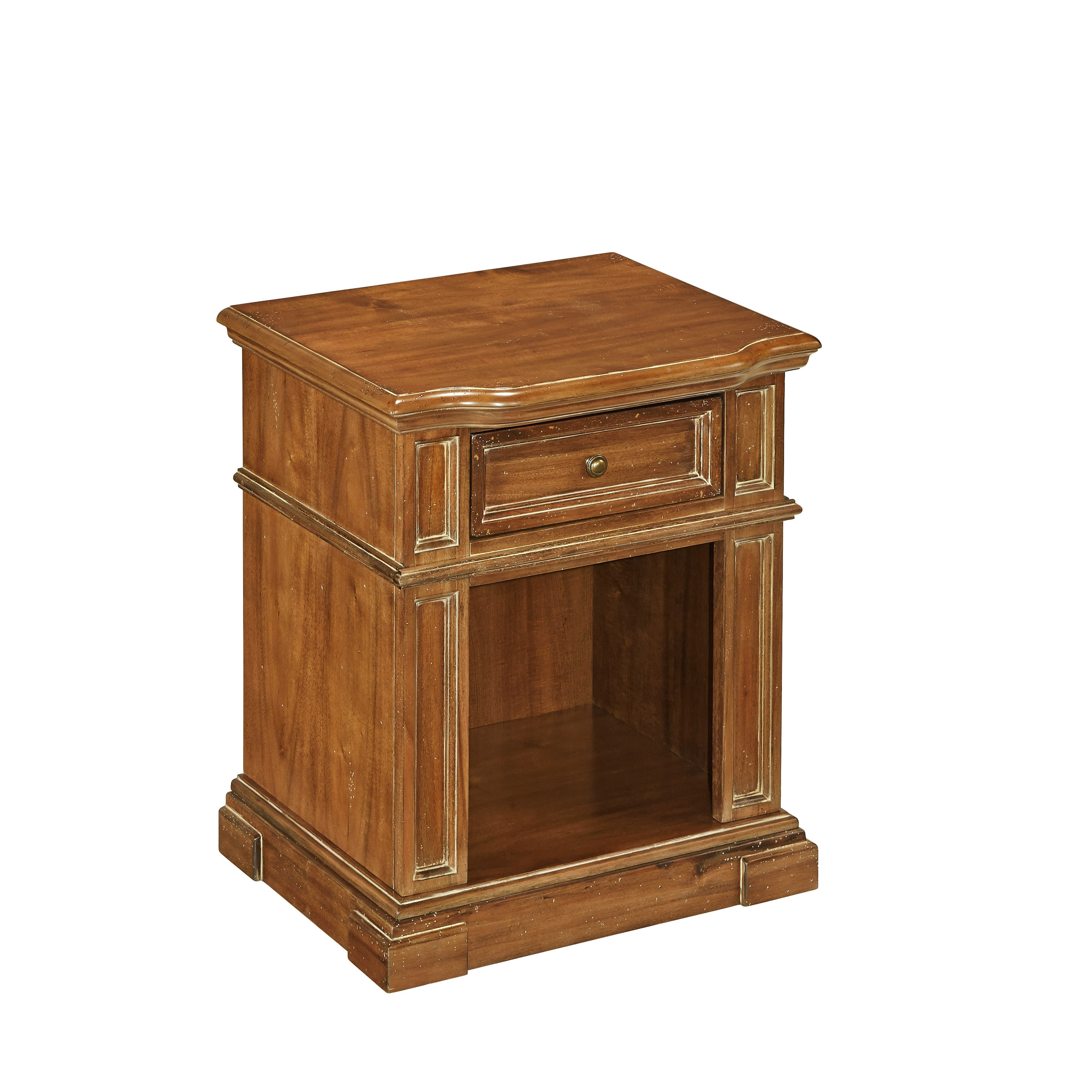 Americana Vintage Night Stand By Home Styles   Free Shipping Today    Overstock   17096640