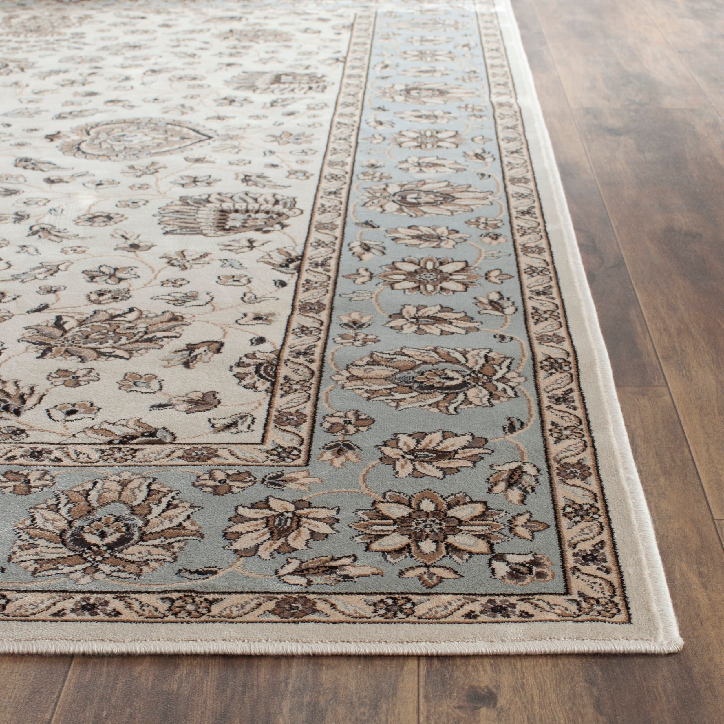 Safavieh Persian Garden Ivory Light Blue Viscose Rug 5 1 X 7 Free Shipping Today 17096974